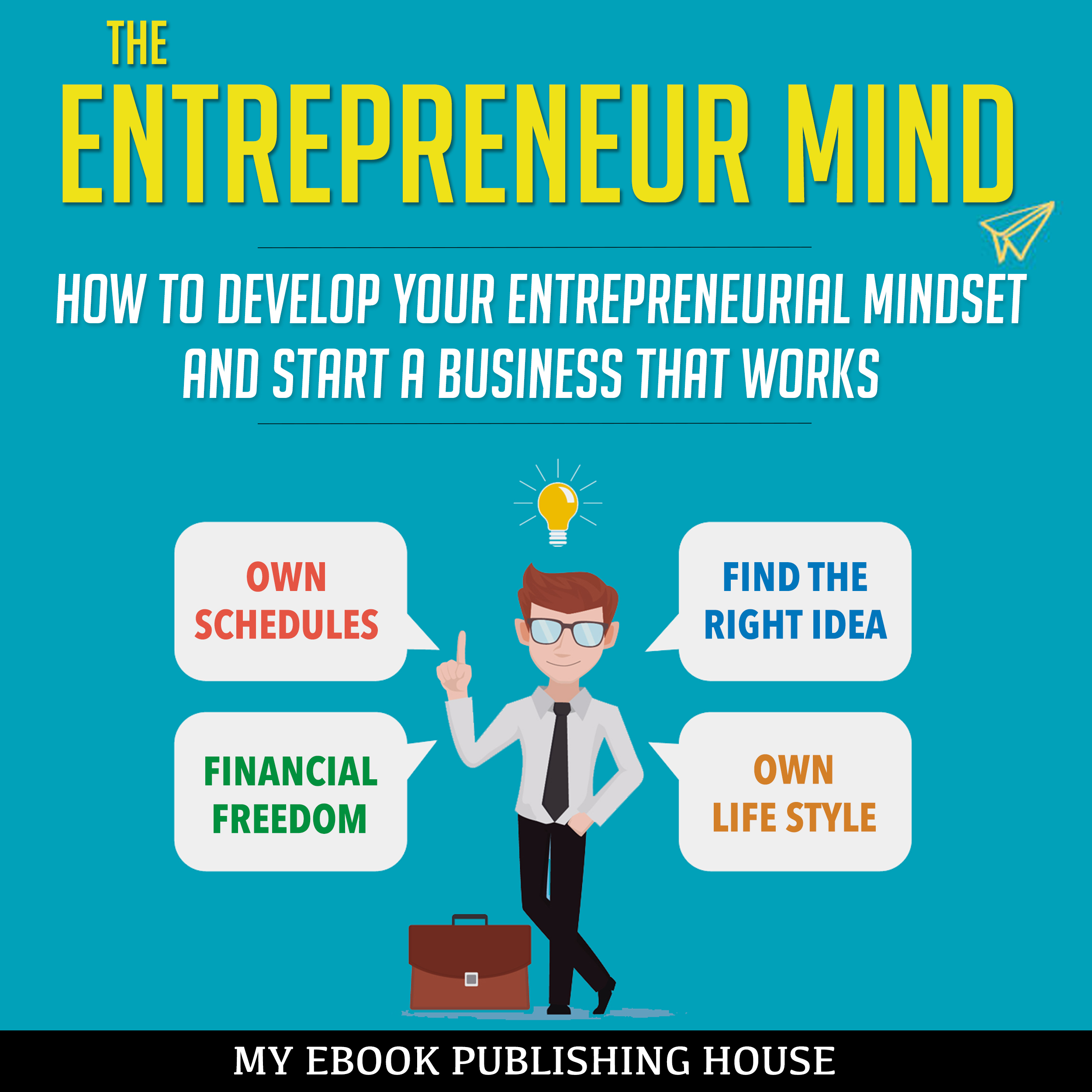 Printable The Entrepreneur Mind: How to Develop Your Entrepreneurial Mindset and Start a Business That Works Audiobook Cover Art