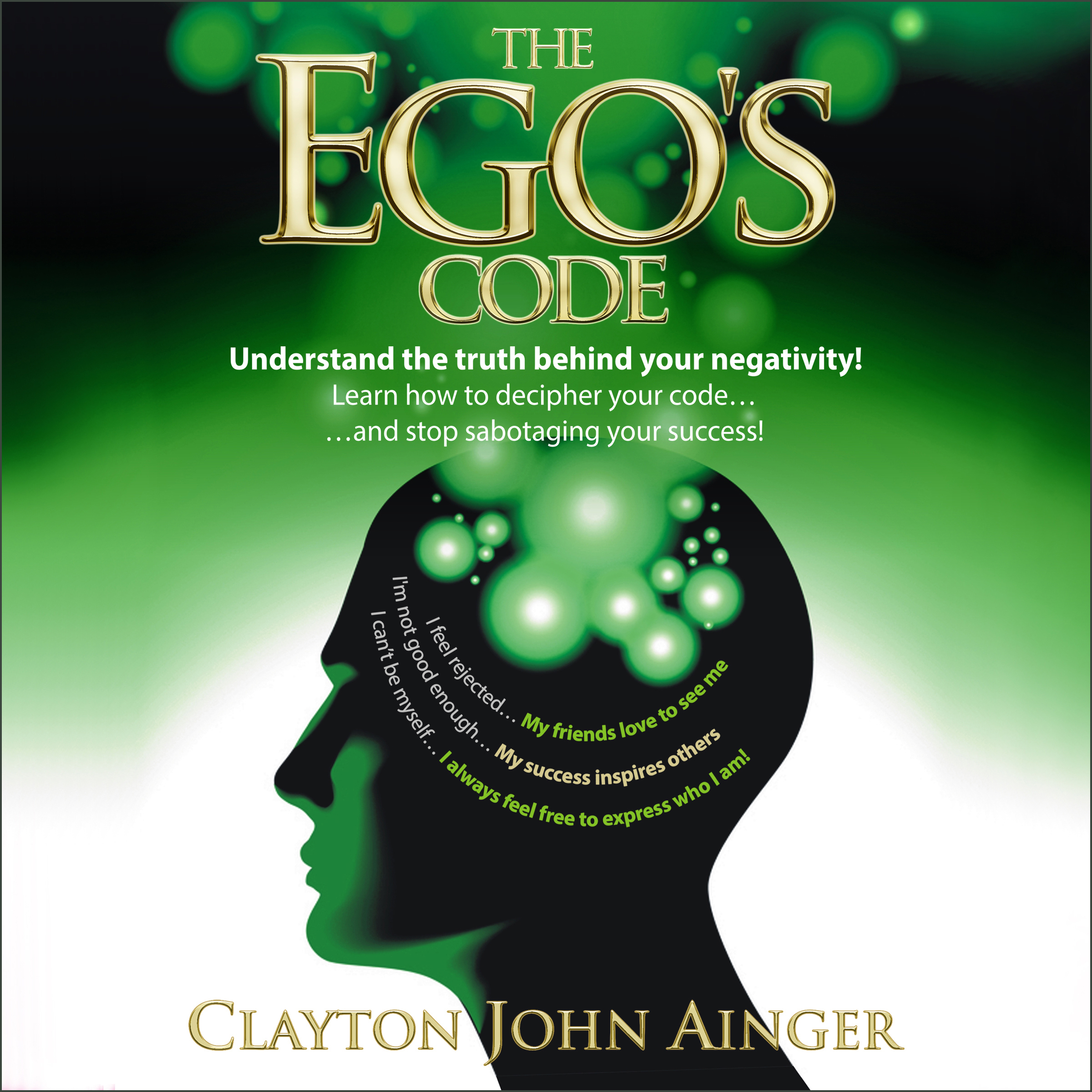 Printable The Ego's Code Audiobook Cover Art