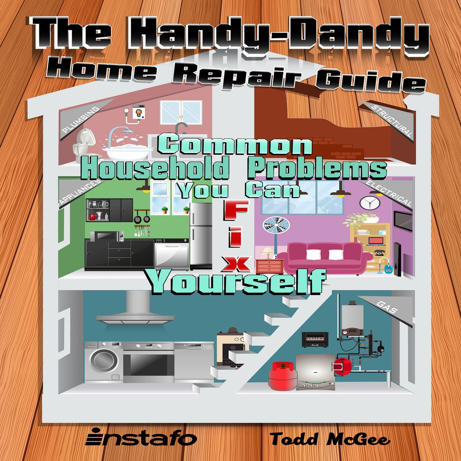 Printable The Handy-Dandy Home Repair Guide Audiobook Cover Art