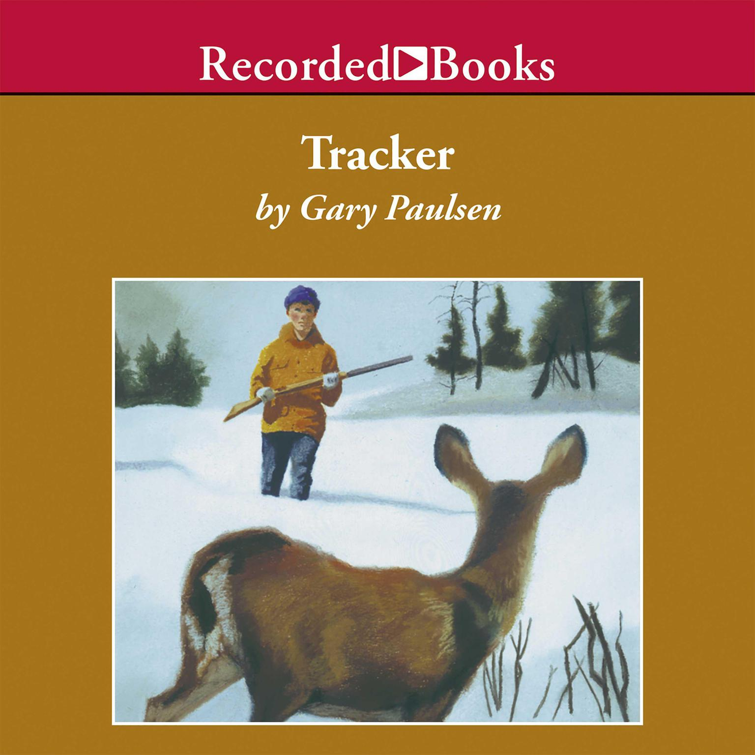 Printable Tracker Audiobook Cover Art