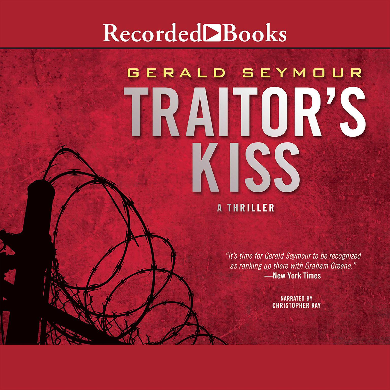 Printable Traitor's Kiss Audiobook Cover Art