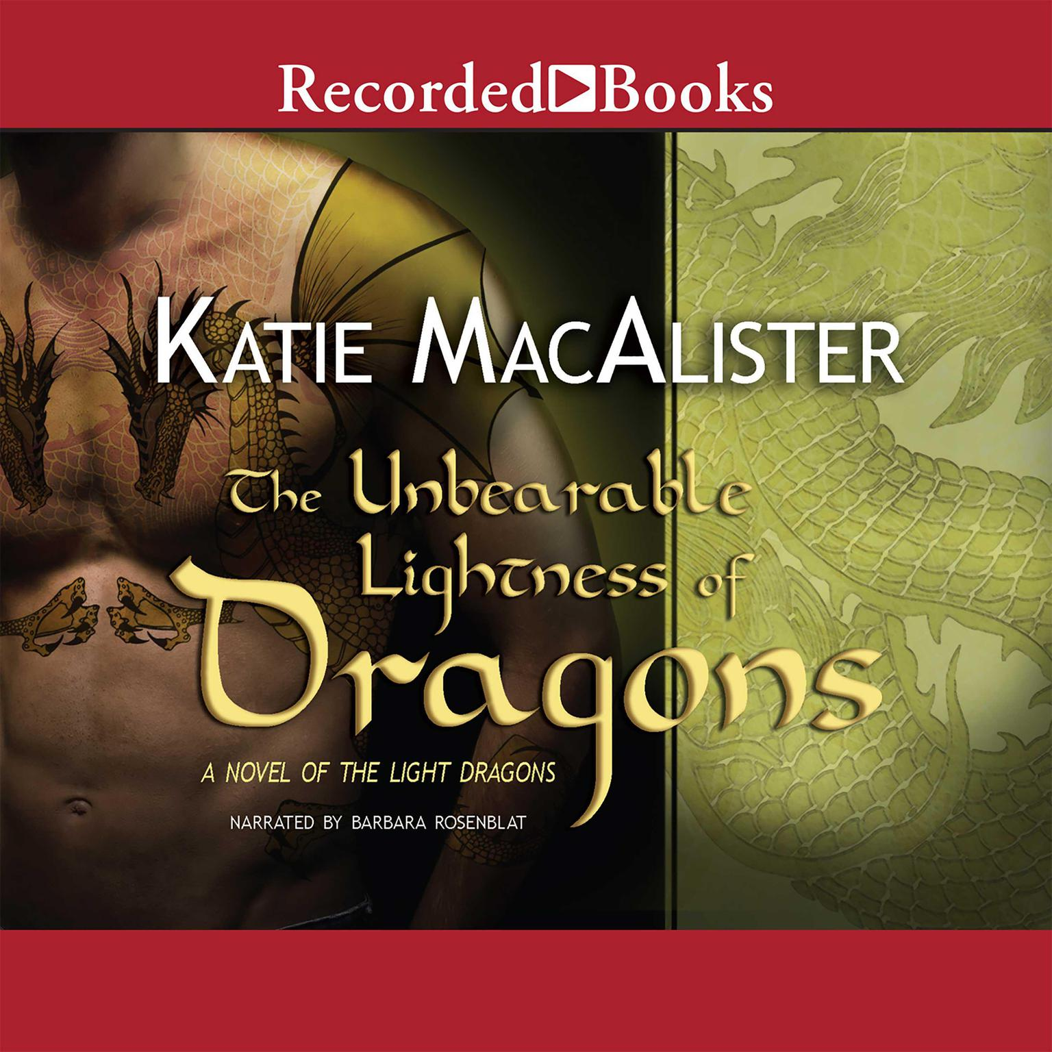 Printable The Unbearable Lightness of Dragons: Subtitle Audiobook Cover Art