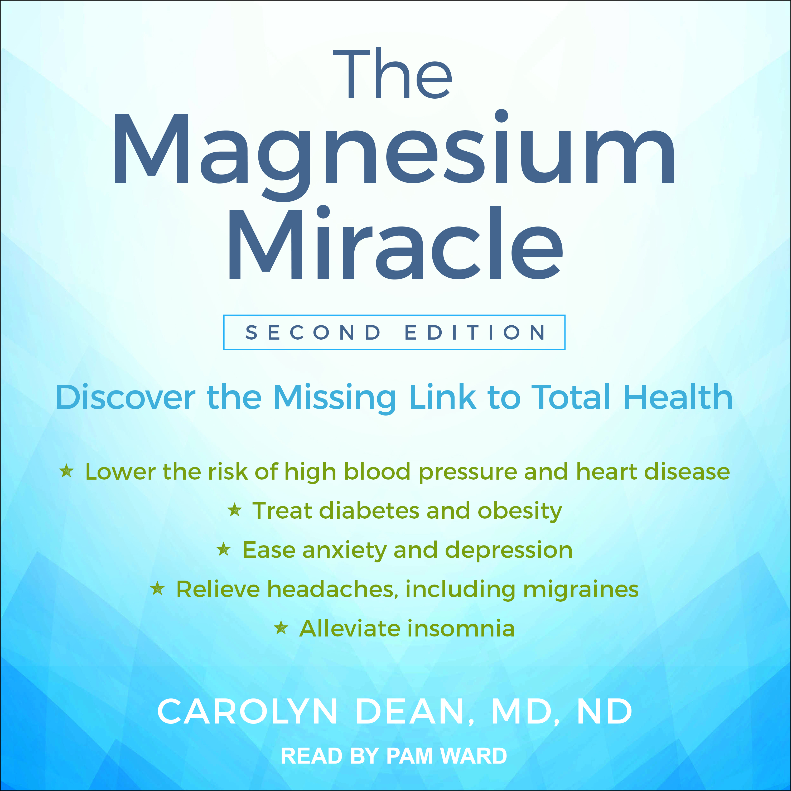 Printable The Magnesium Miracle (Second Edition) Audiobook Cover Art