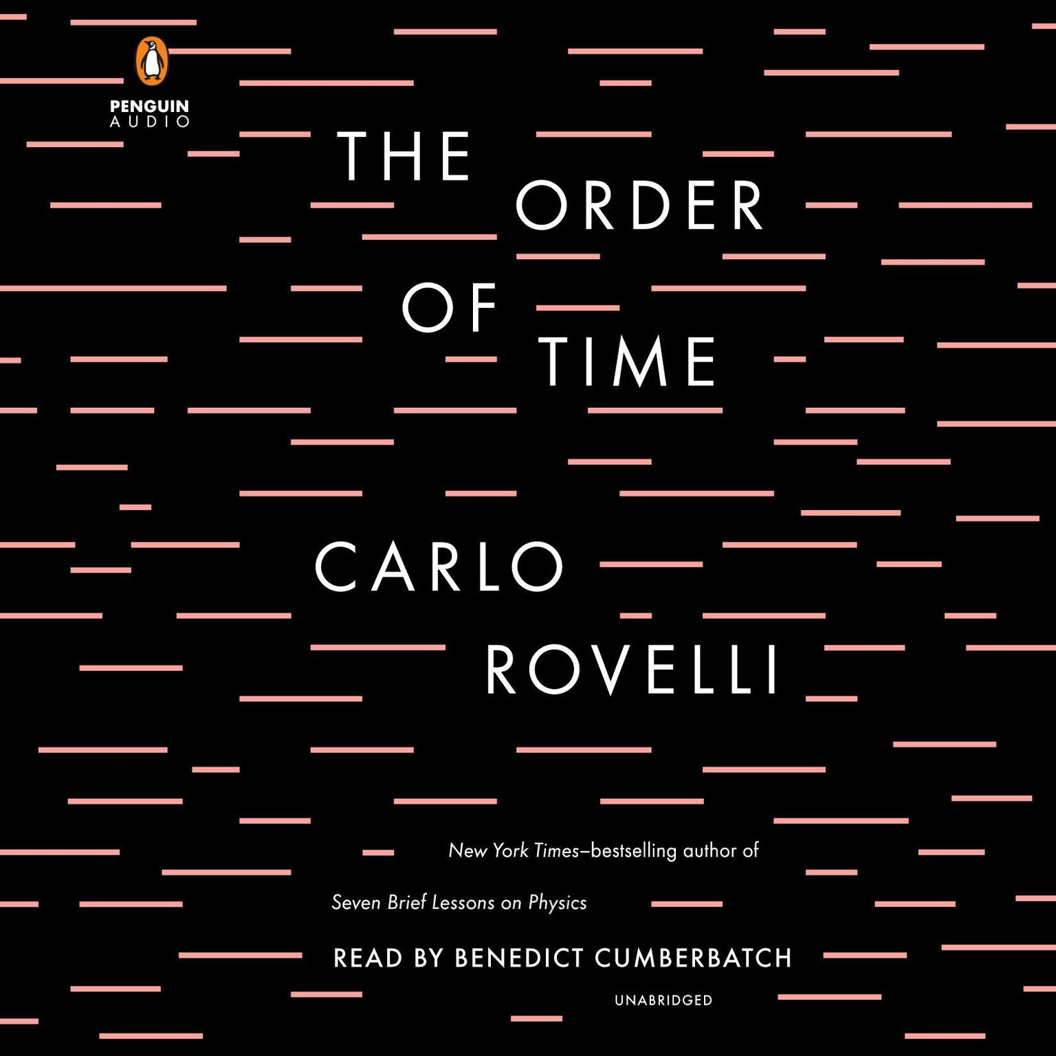 Printable The Order of Time Audiobook Cover Art