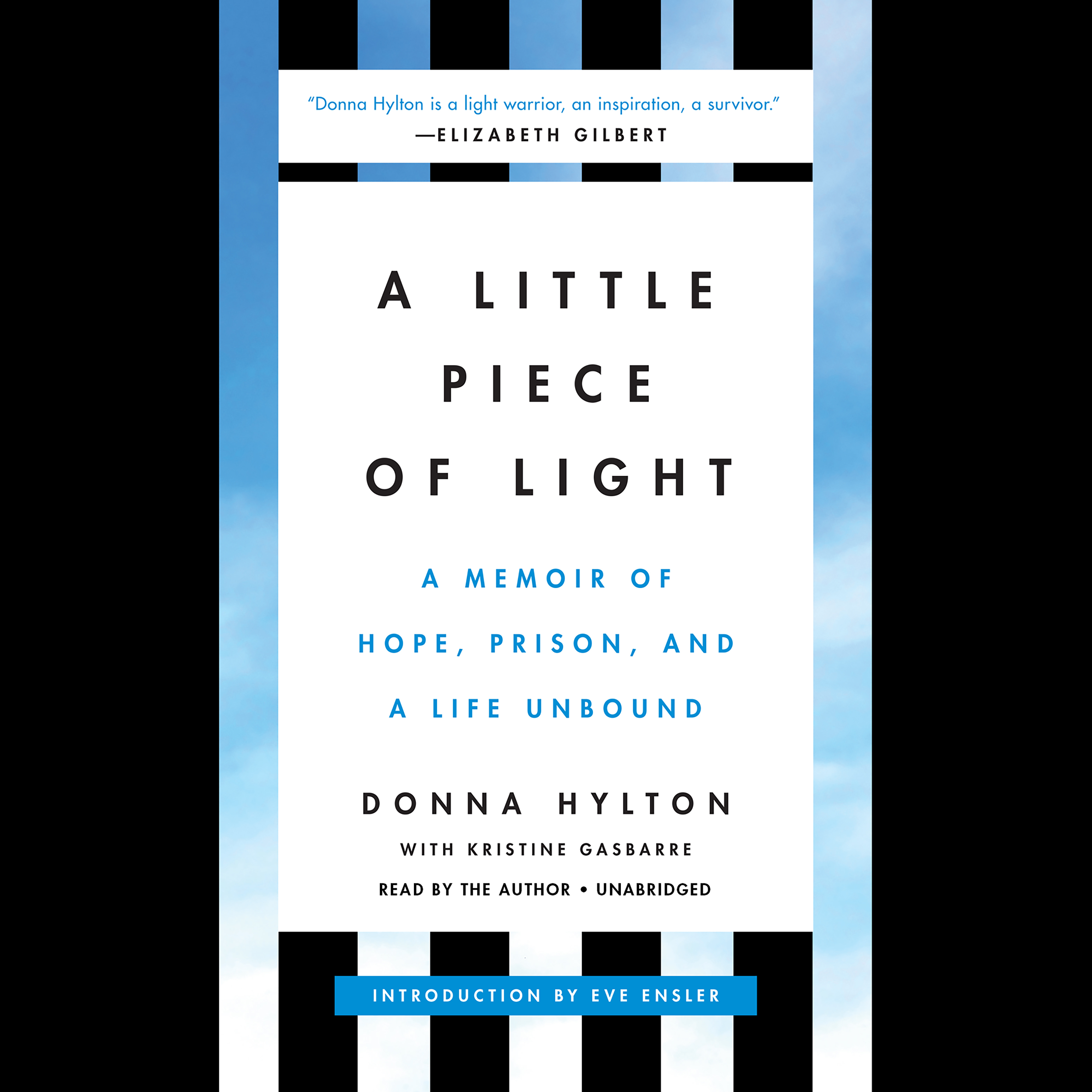 Printable A Little Piece of Light: A Memoir of Hope, Prison, and a Life Unbound Audiobook Cover Art
