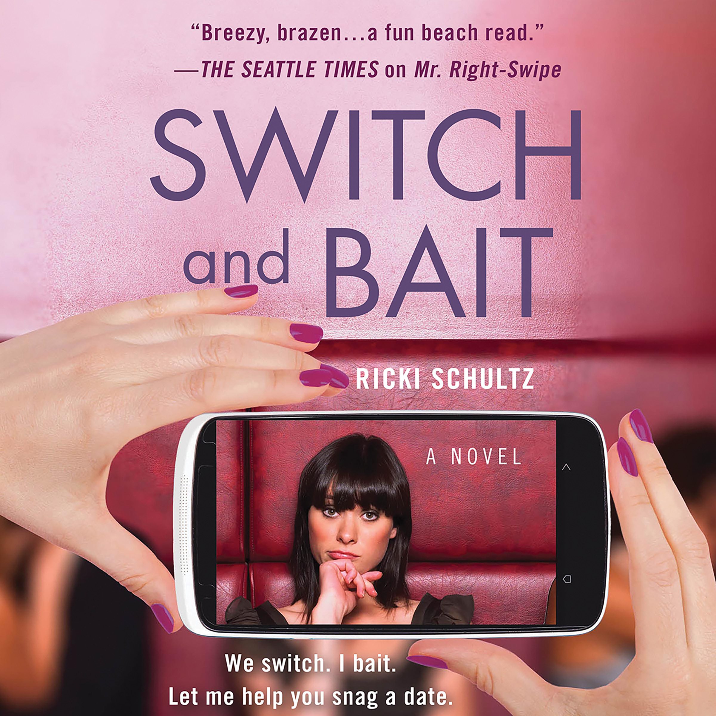 Printable Switch and Bait Audiobook Cover Art