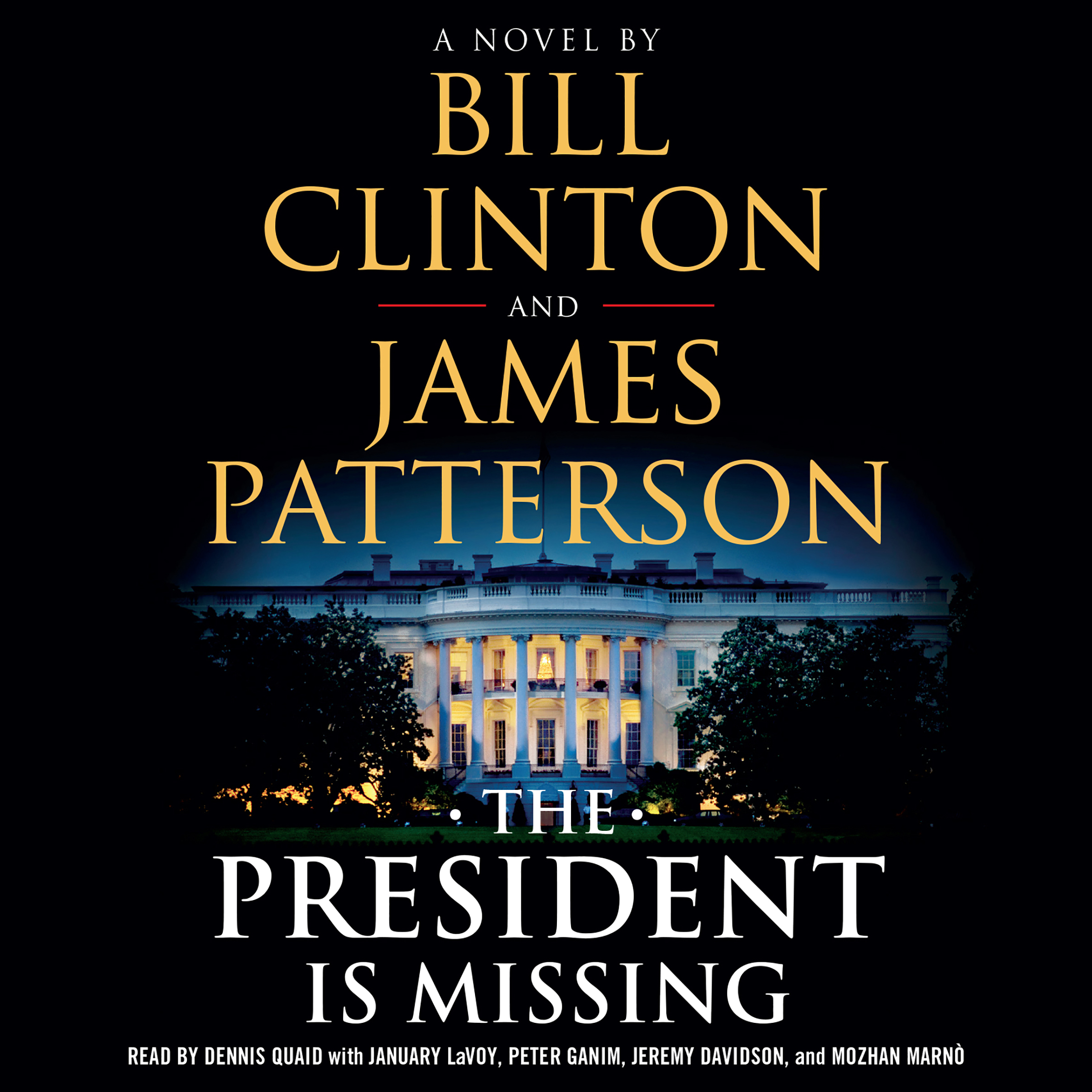 Printable The President Is Missing: A Novel Audiobook Cover Art
