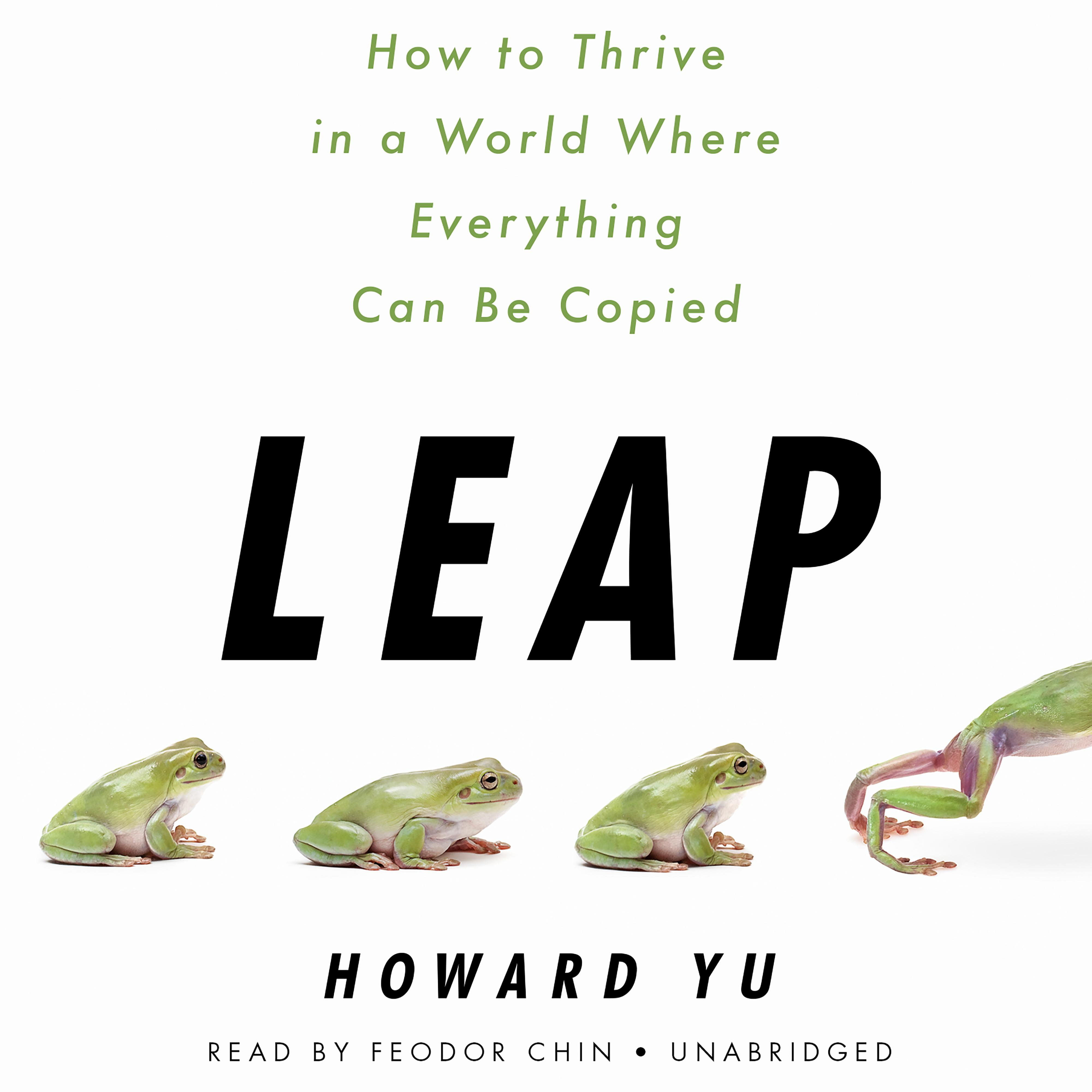 Printable Leap: How to Thrive in a World Where Everything Can Be Copied Audiobook Cover Art