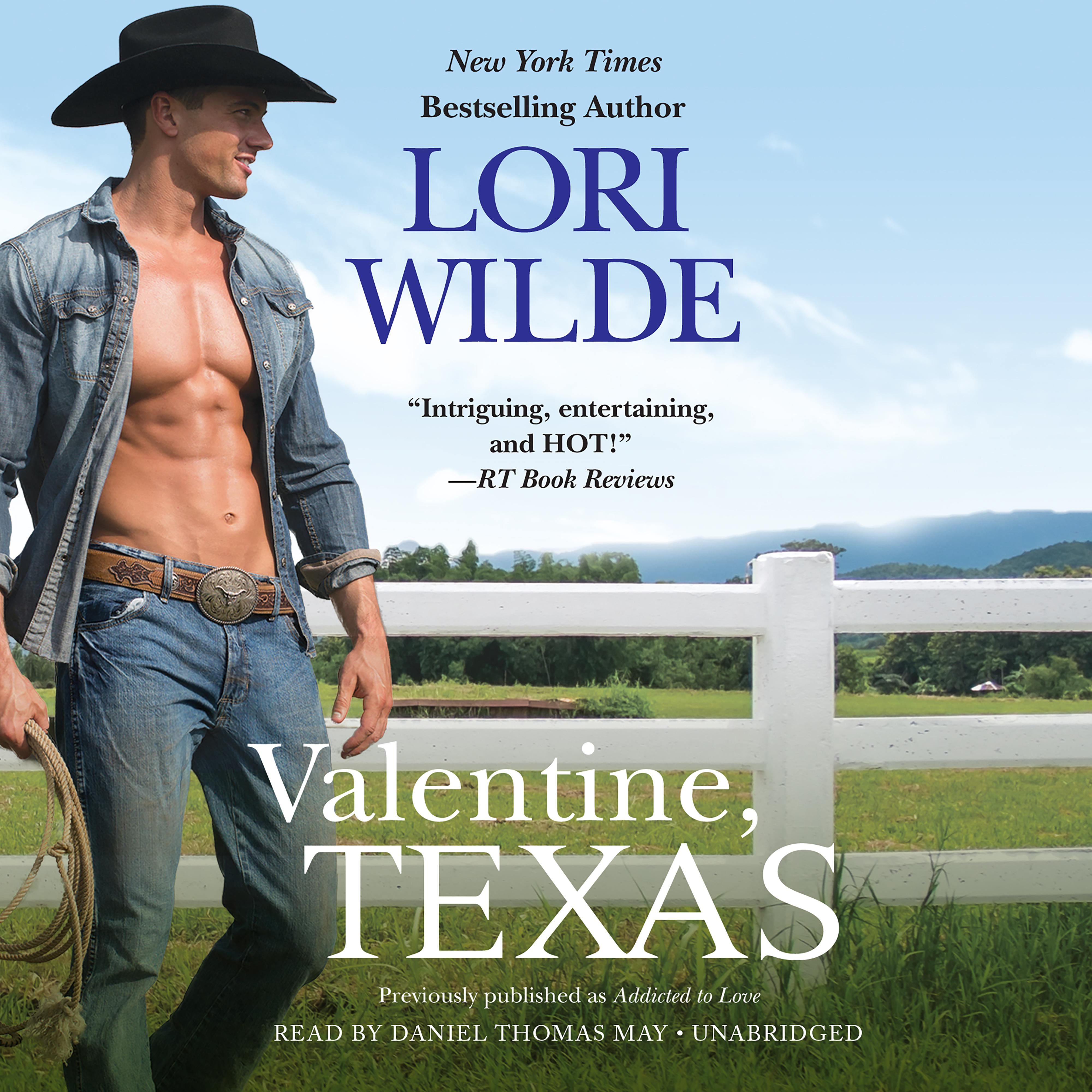 Printable Valentine, Texas Audiobook Cover Art