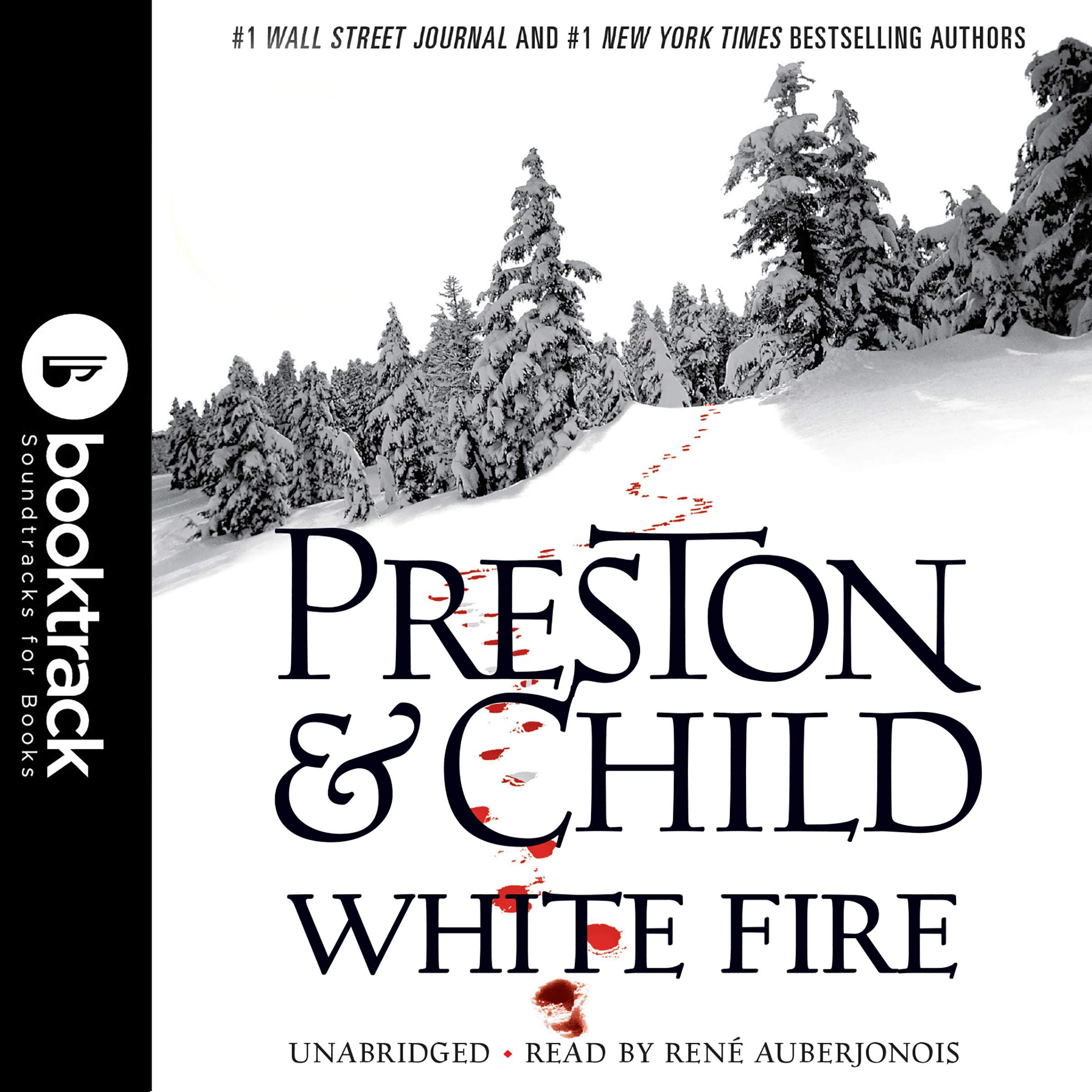 Printable White Fire: Booktrack Edition Audiobook Cover Art