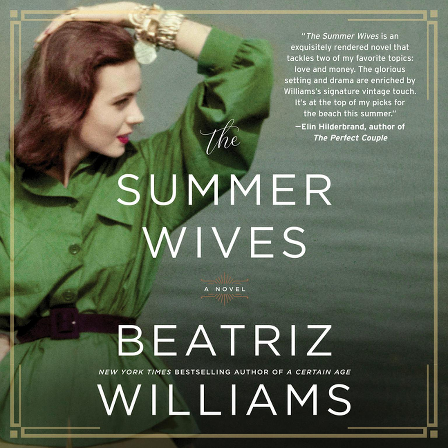 Printable The Summer Wives Audiobook Cover Art