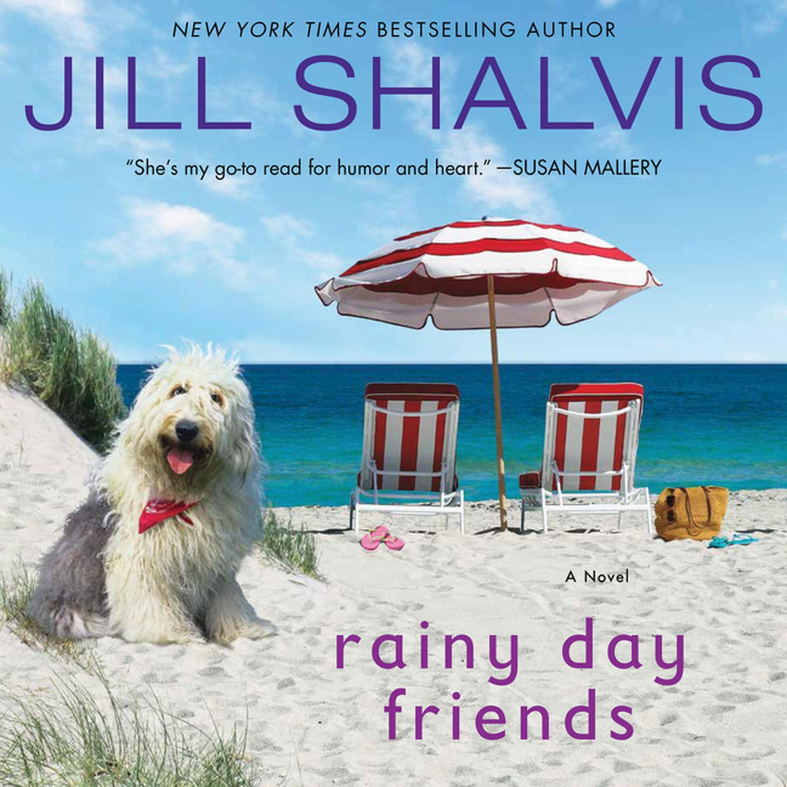 Printable Rainy Day Friends: A Novel Audiobook Cover Art