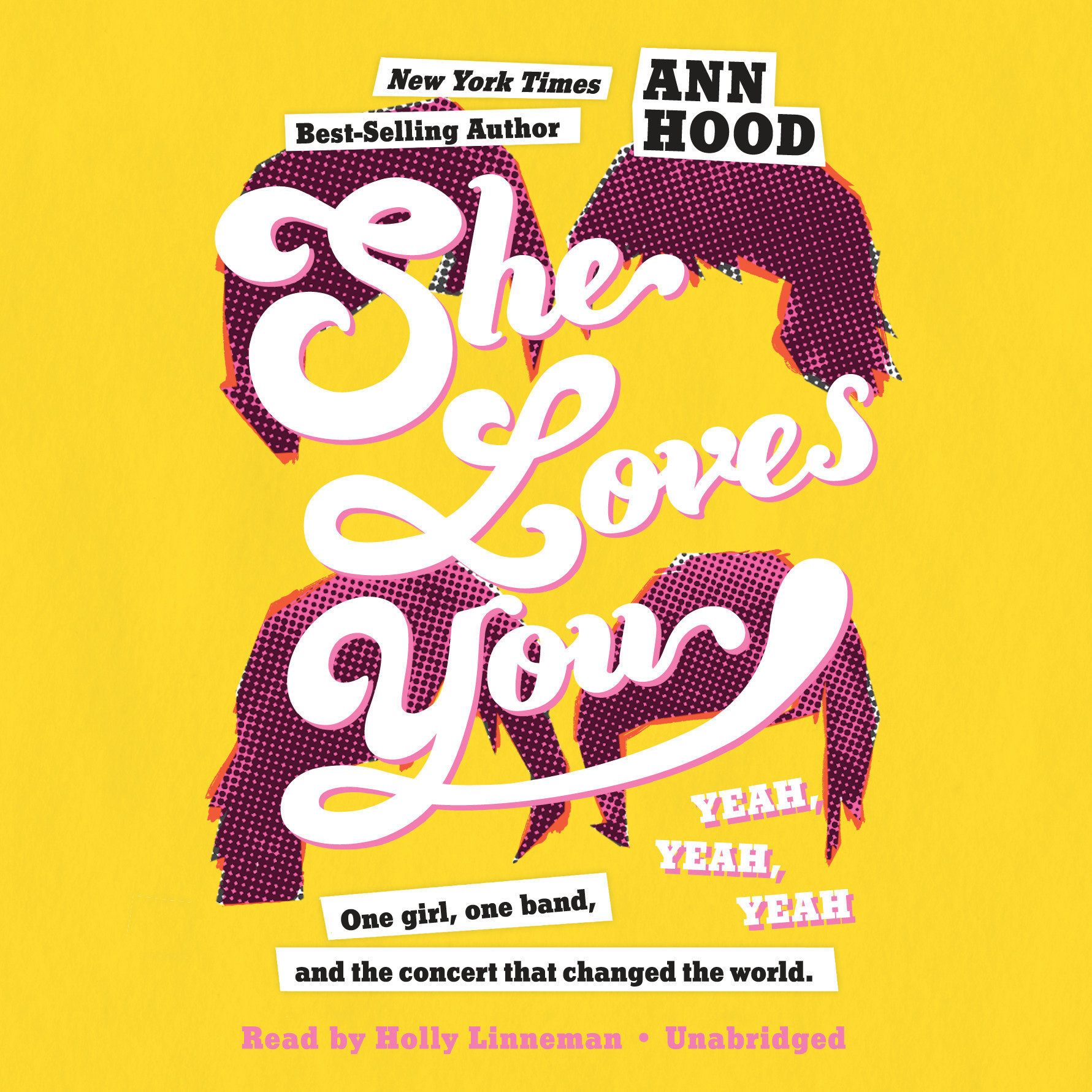 Printable She Loves You (Yeah, Yeah, Yeah) Audiobook Cover Art