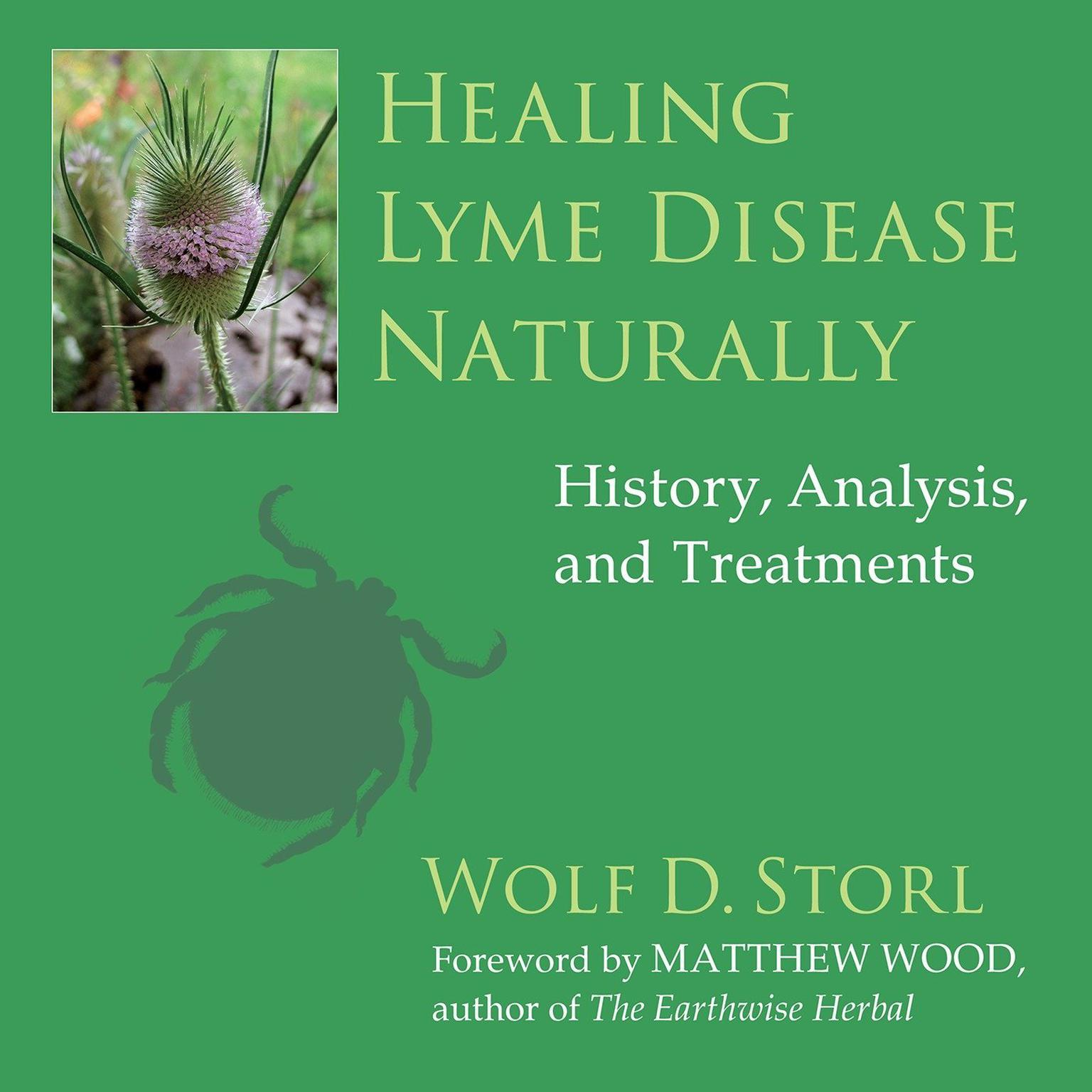 Printable Healing Lyme Disease Naturally: History, Analysis, and Treatments Audiobook Cover Art