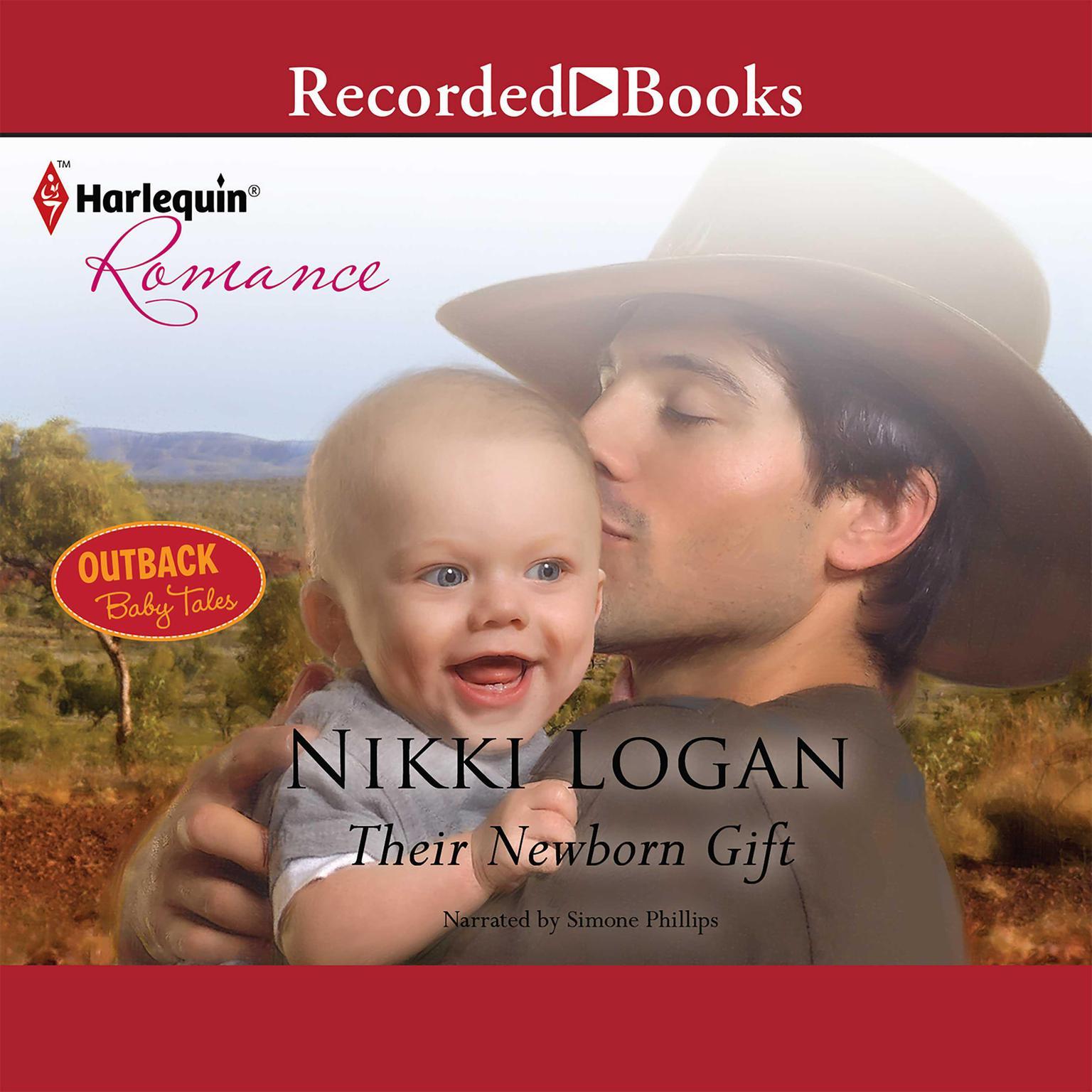 Printable Their Newborn Gift Audiobook Cover Art