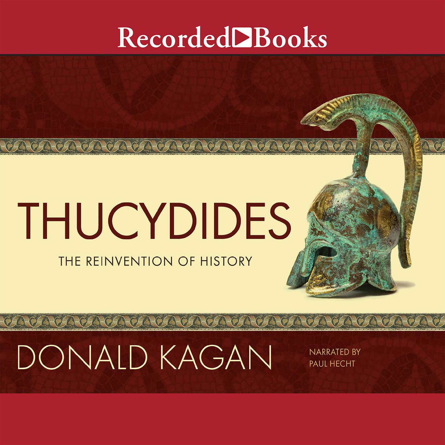 Printable Thucydides: The Reinvention of History Audiobook Cover Art