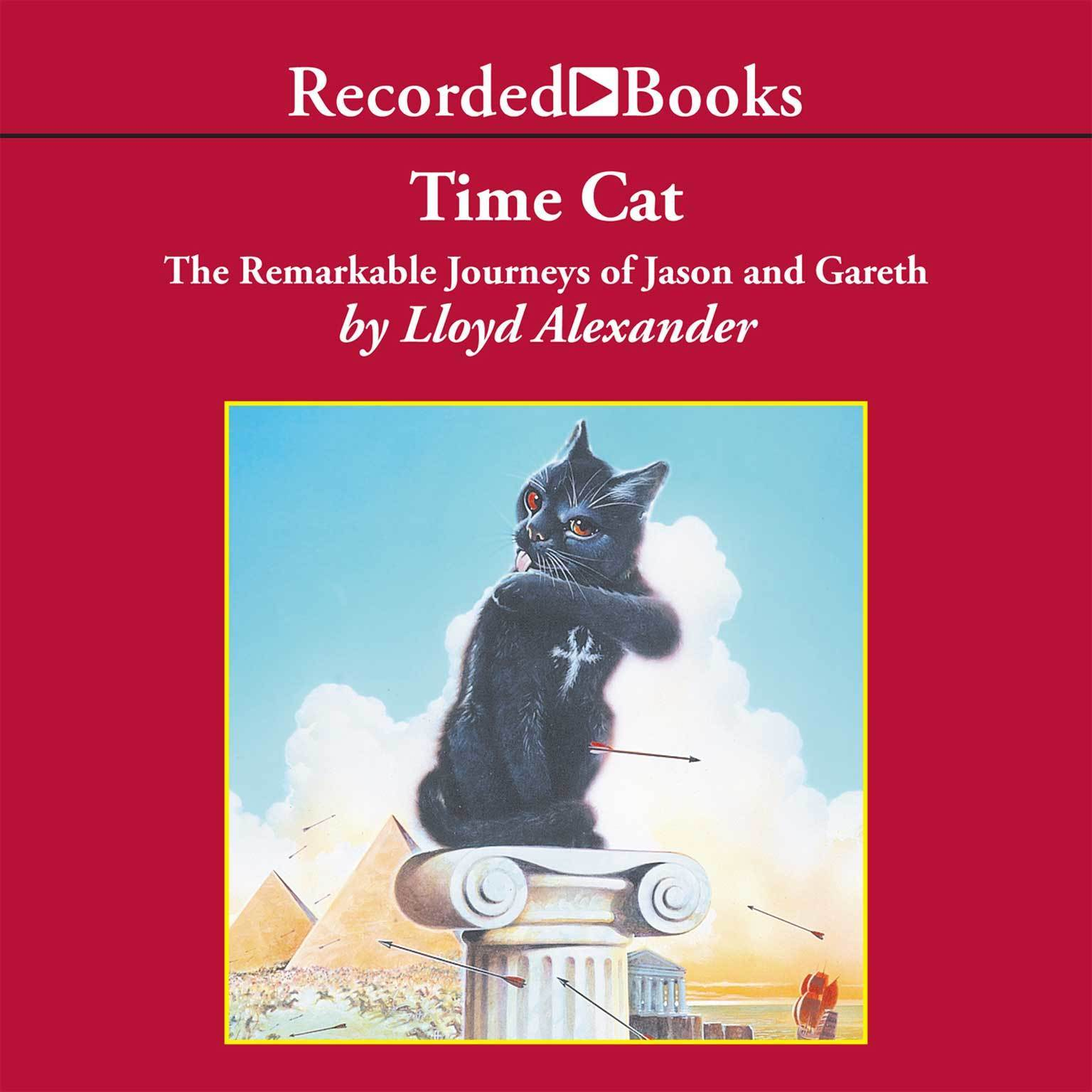 Printable Time Cat: The Remarkable Journeys of Jason and Gareth Audiobook Cover Art