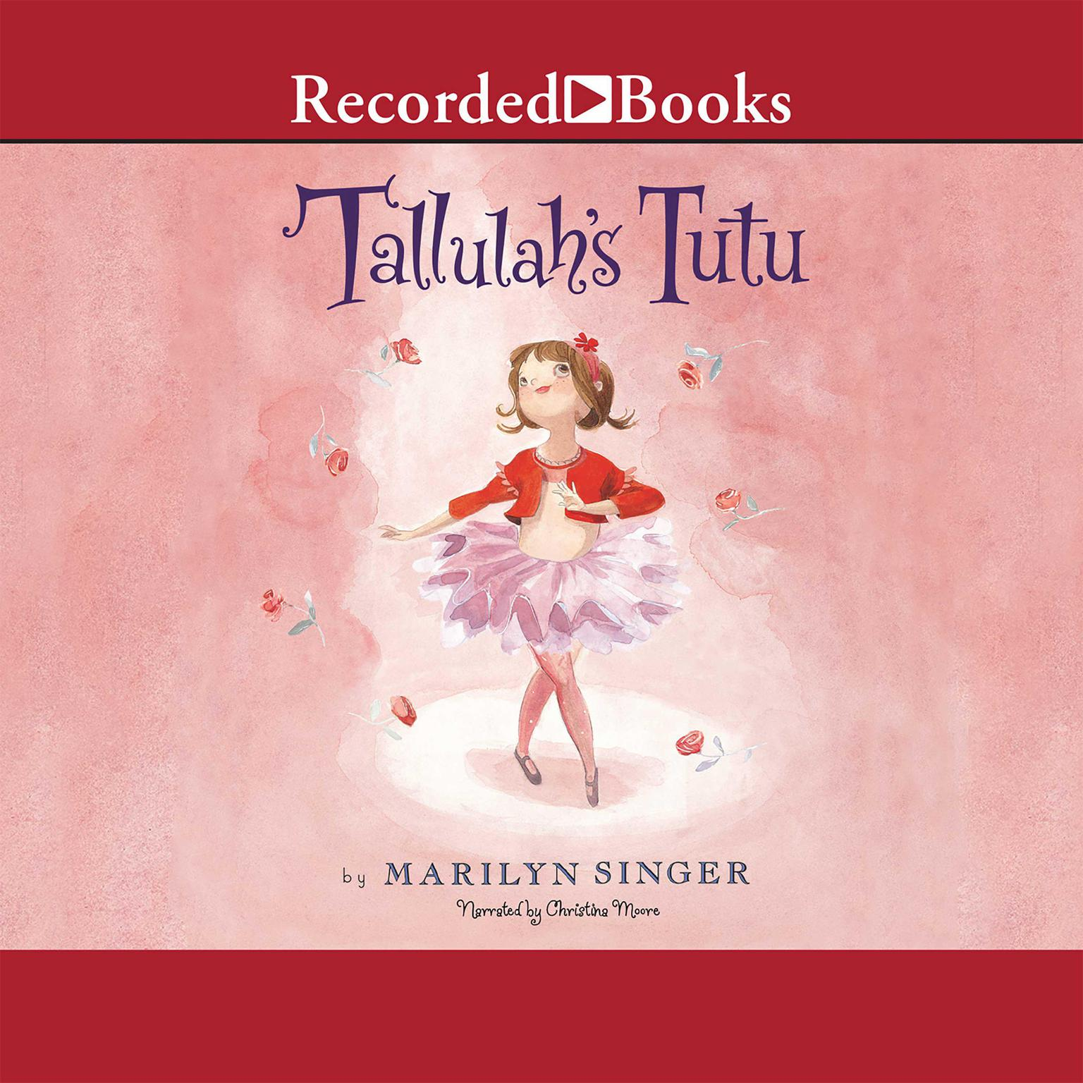 Printable Tallulah's Tutu Audiobook Cover Art