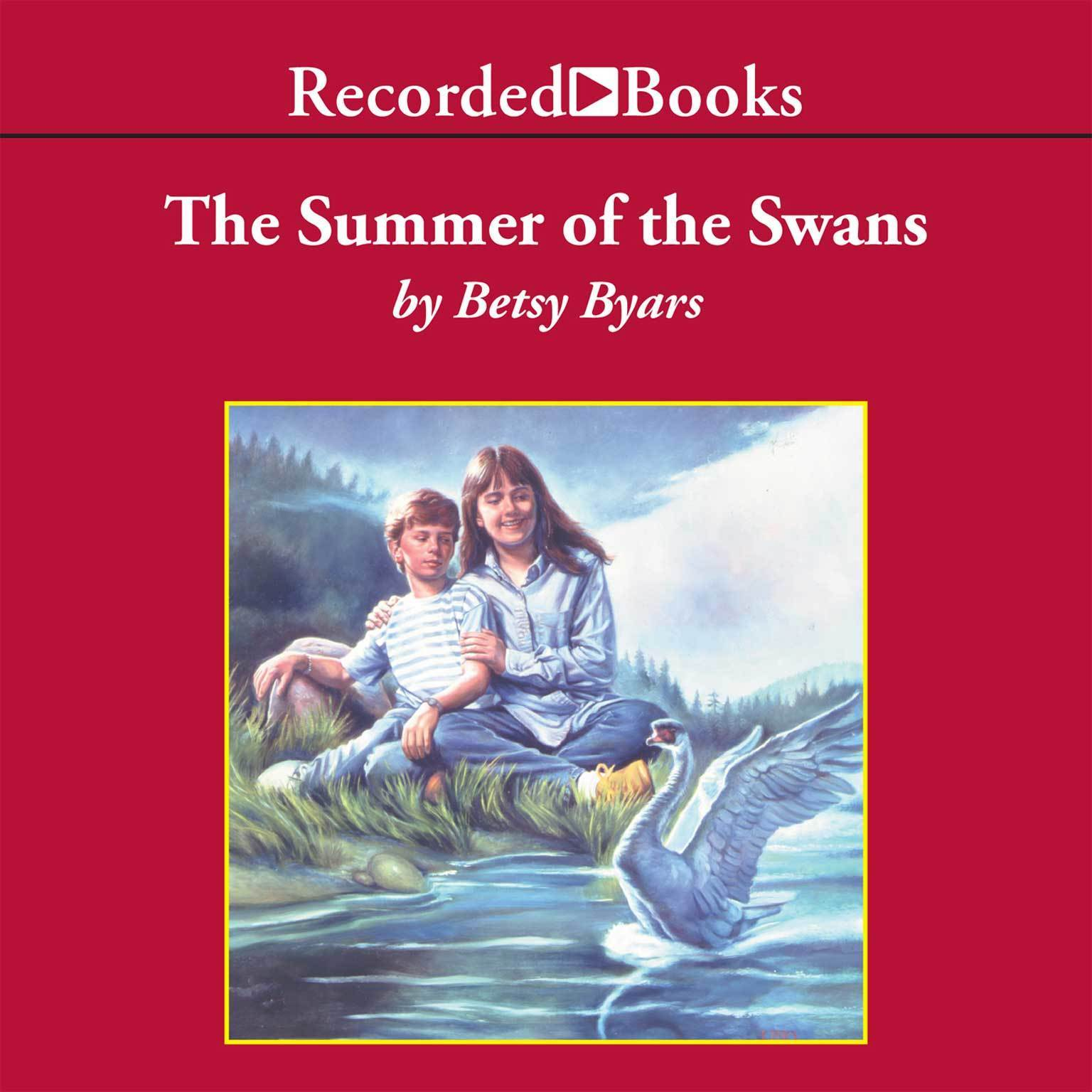 Printable The Summer of the Swans Audiobook Cover Art