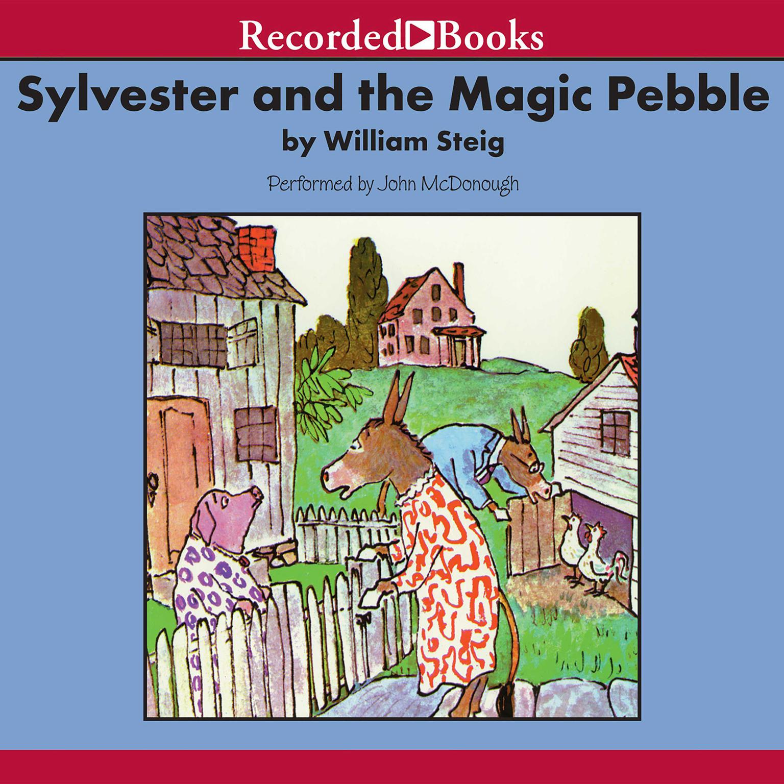 Printable Sylvester and the Magic Pebble Audiobook Cover Art