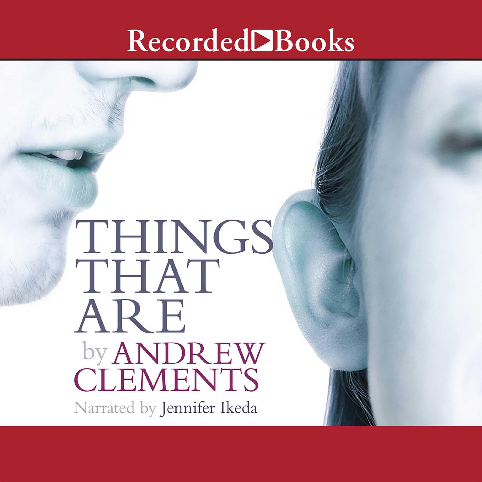 Printable Things that Are Audiobook Cover Art