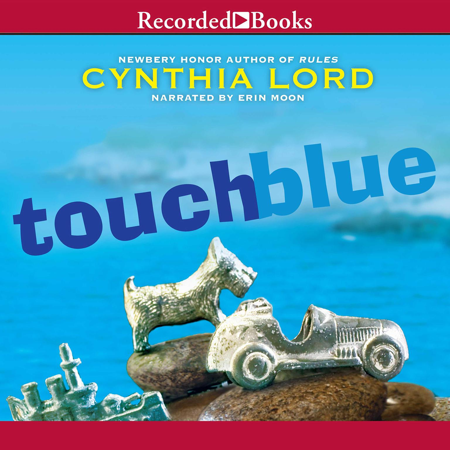 Printable Touch Blue Audiobook Cover Art