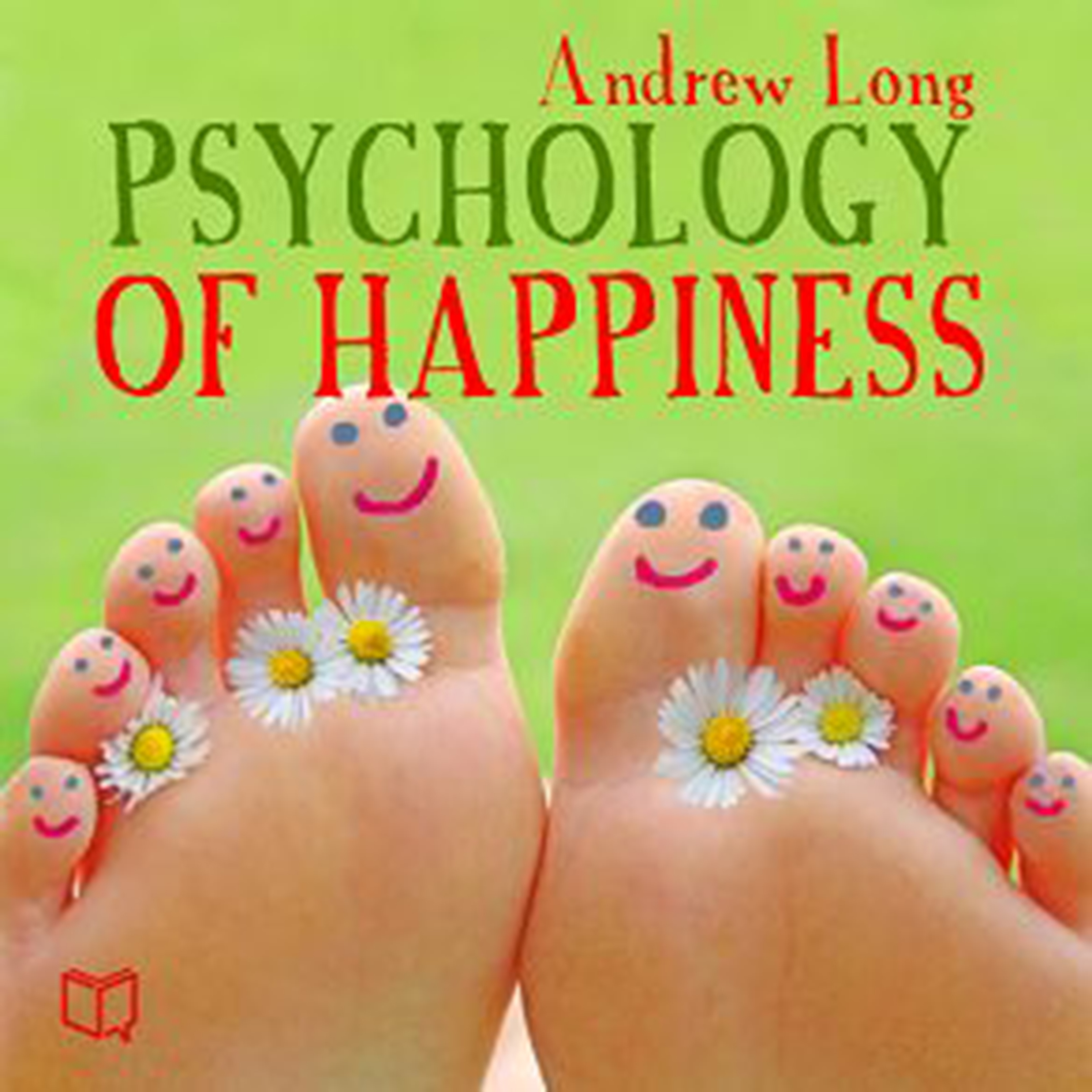 Printable Psychology of Happiness Audiobook Cover Art
