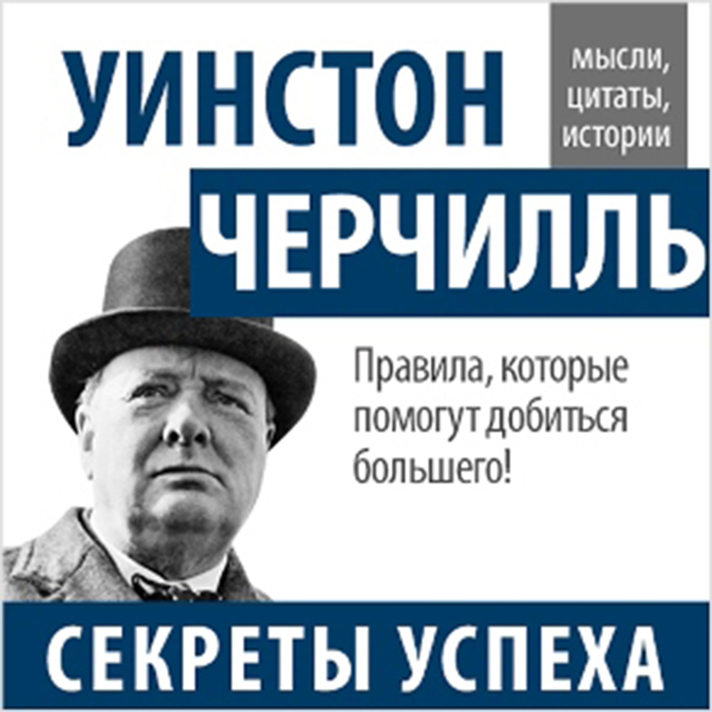 Printable Winston Churchill. Secrets of Success [Russian Edition] Audiobook Cover Art