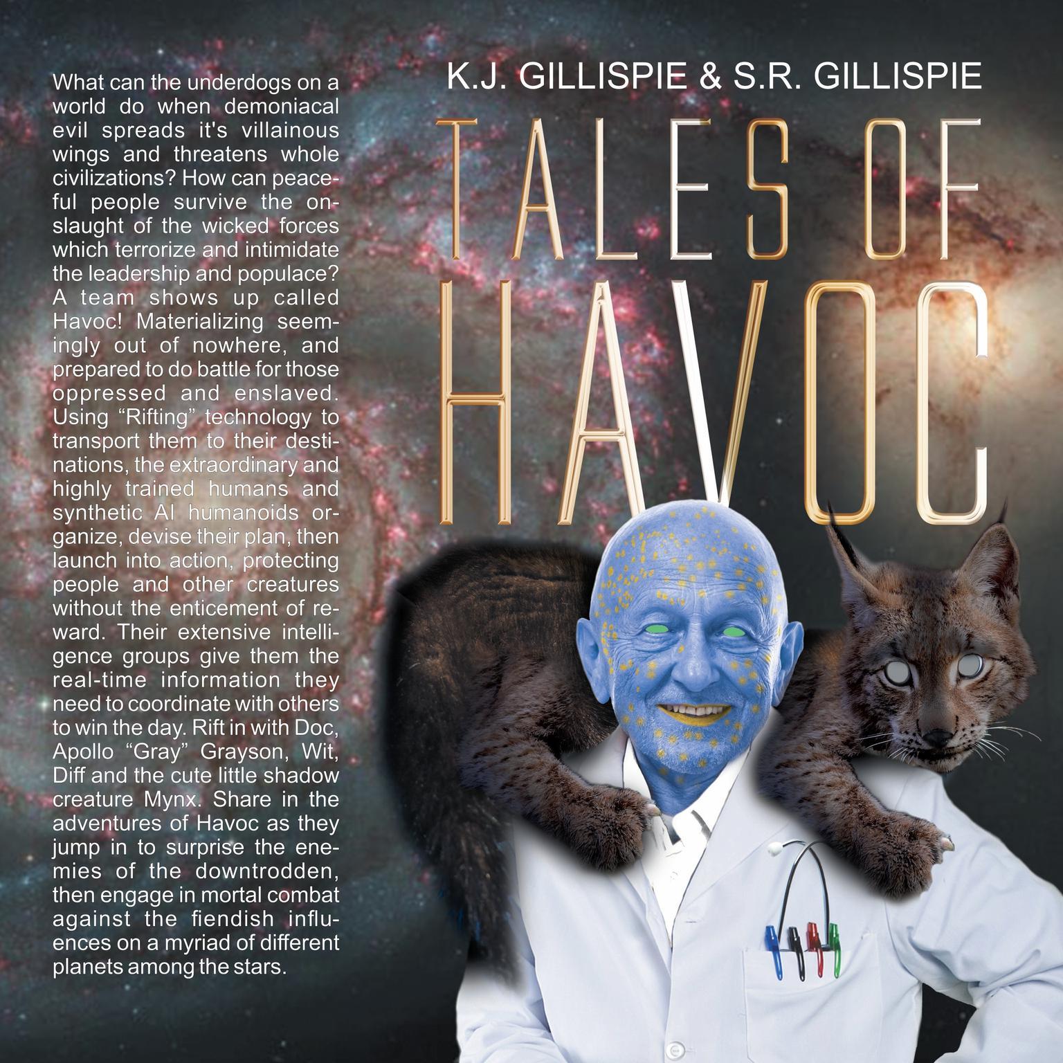 Tales of Havoc: Volume 1 Audiobook, by K. J. Gillispie