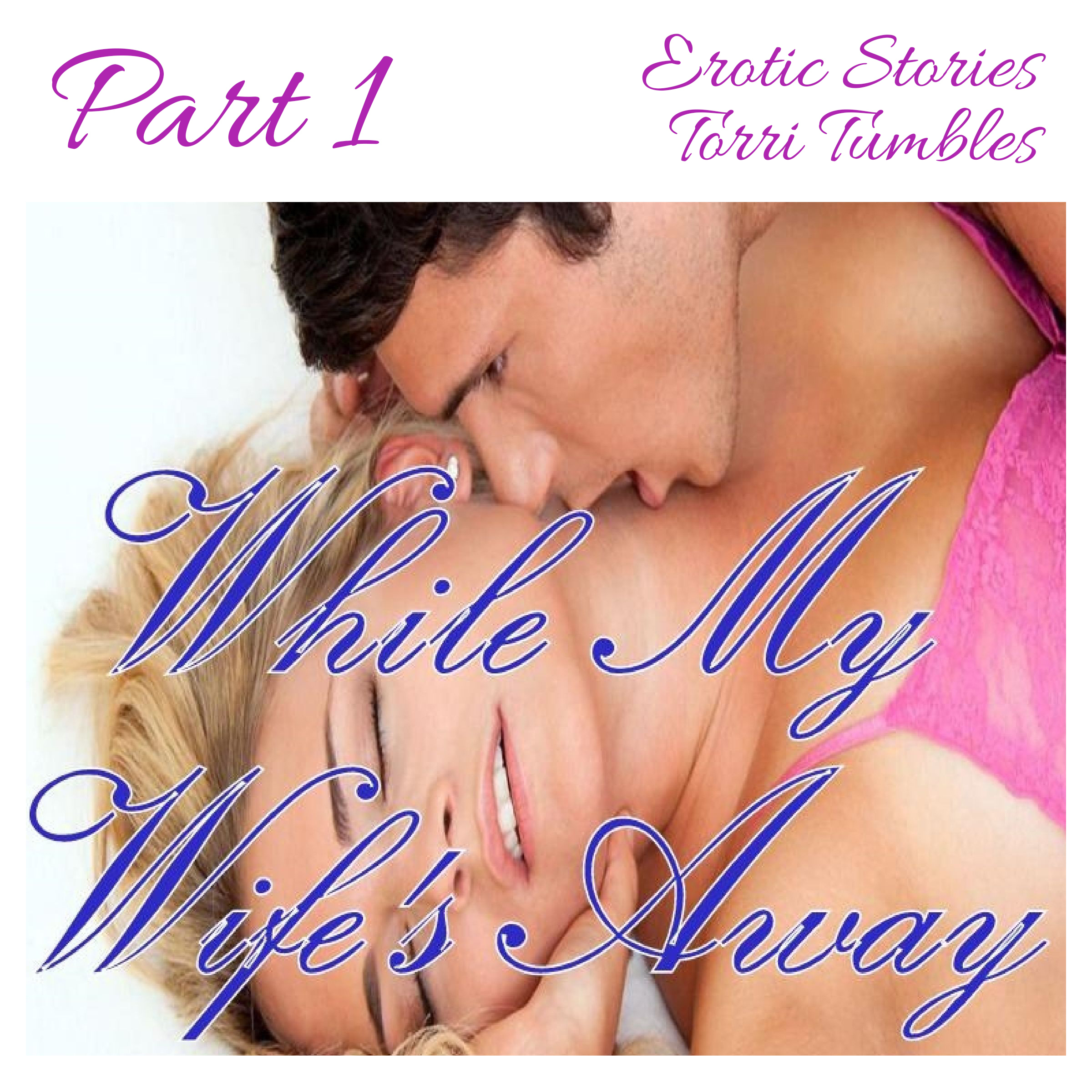 Printable While My Wife's Away Part 1 Erotic Stories  Audiobook Cover Art