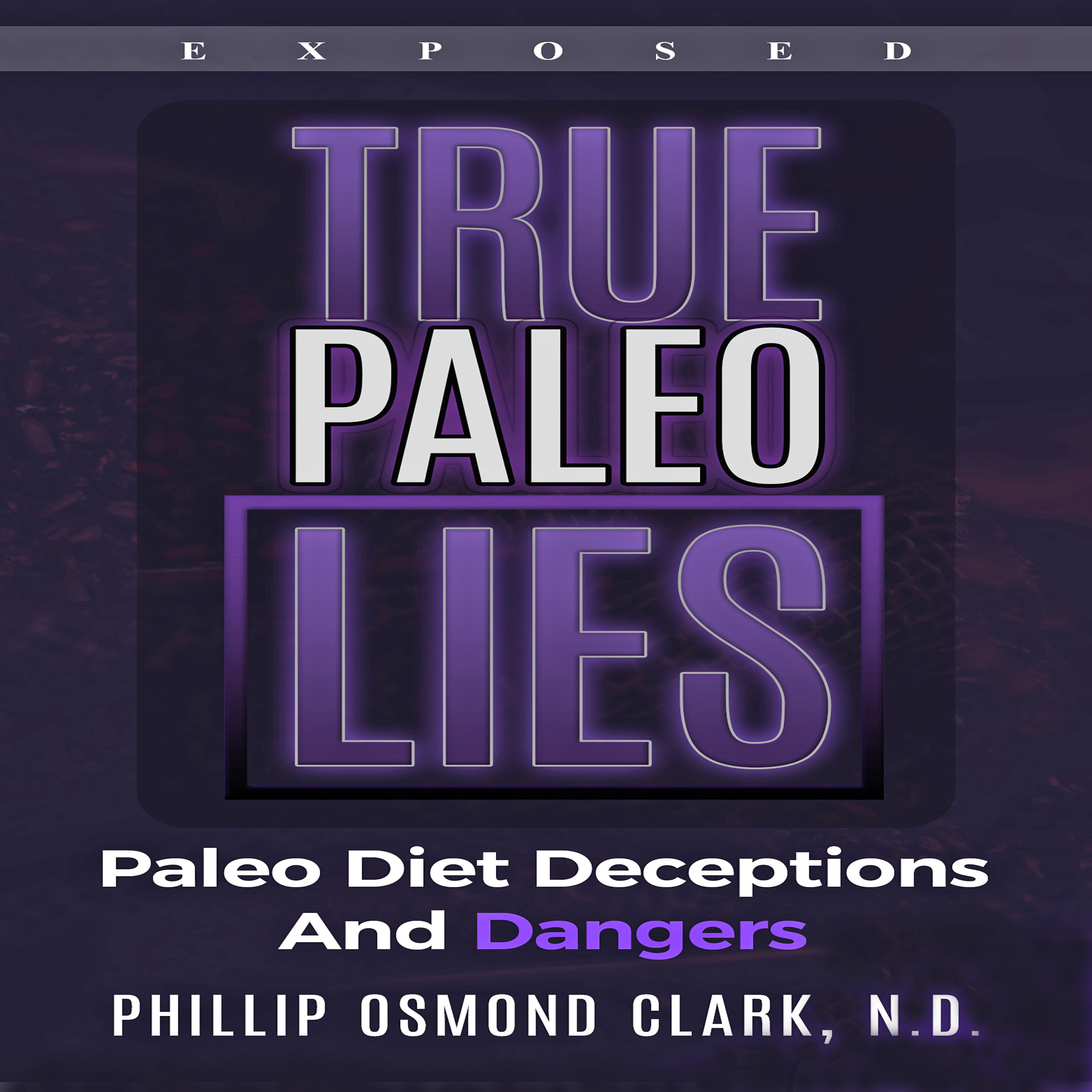 Printable True Paleo Lies Audiobook Cover Art