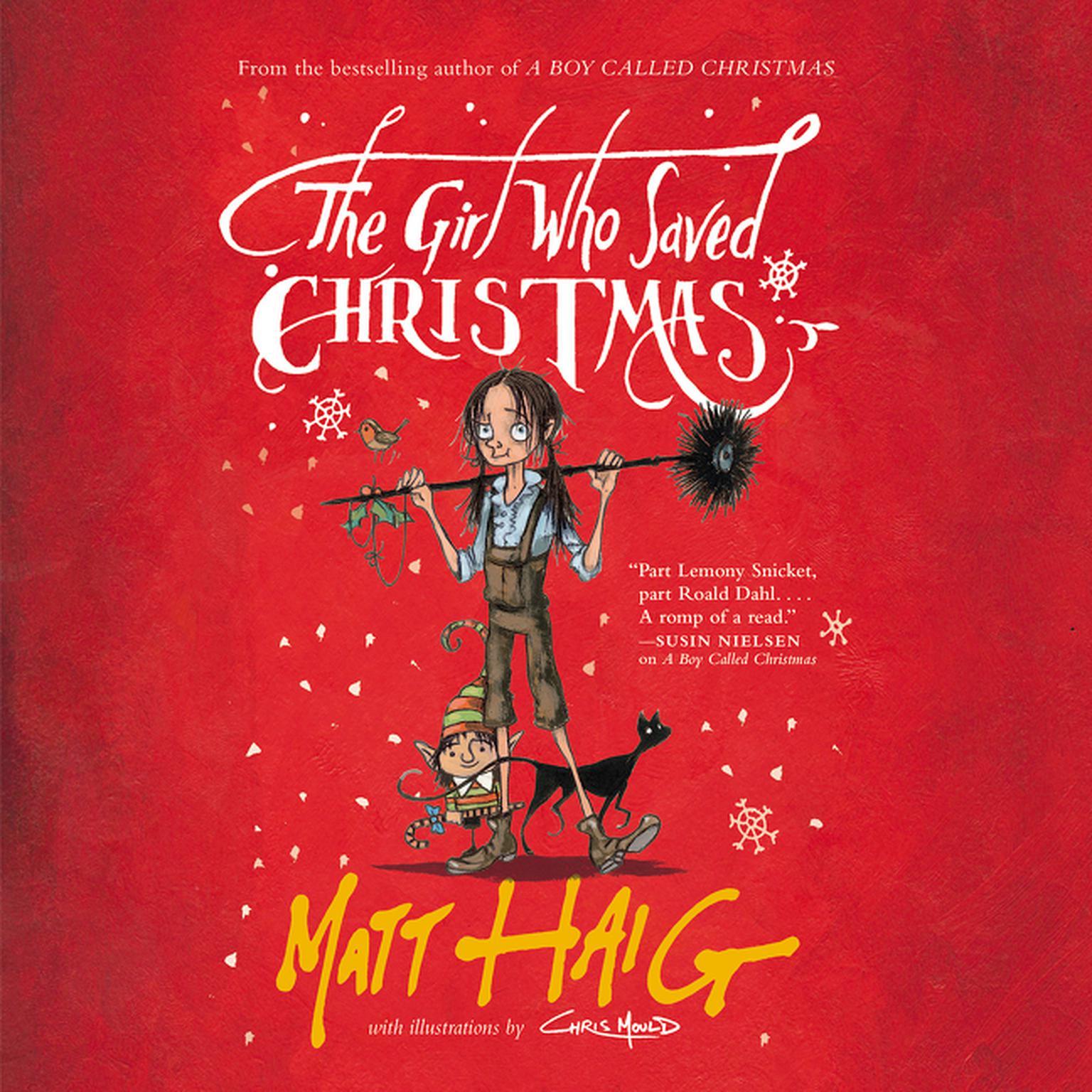 Printable The Girl Who Saved Christmas Audiobook Cover Art