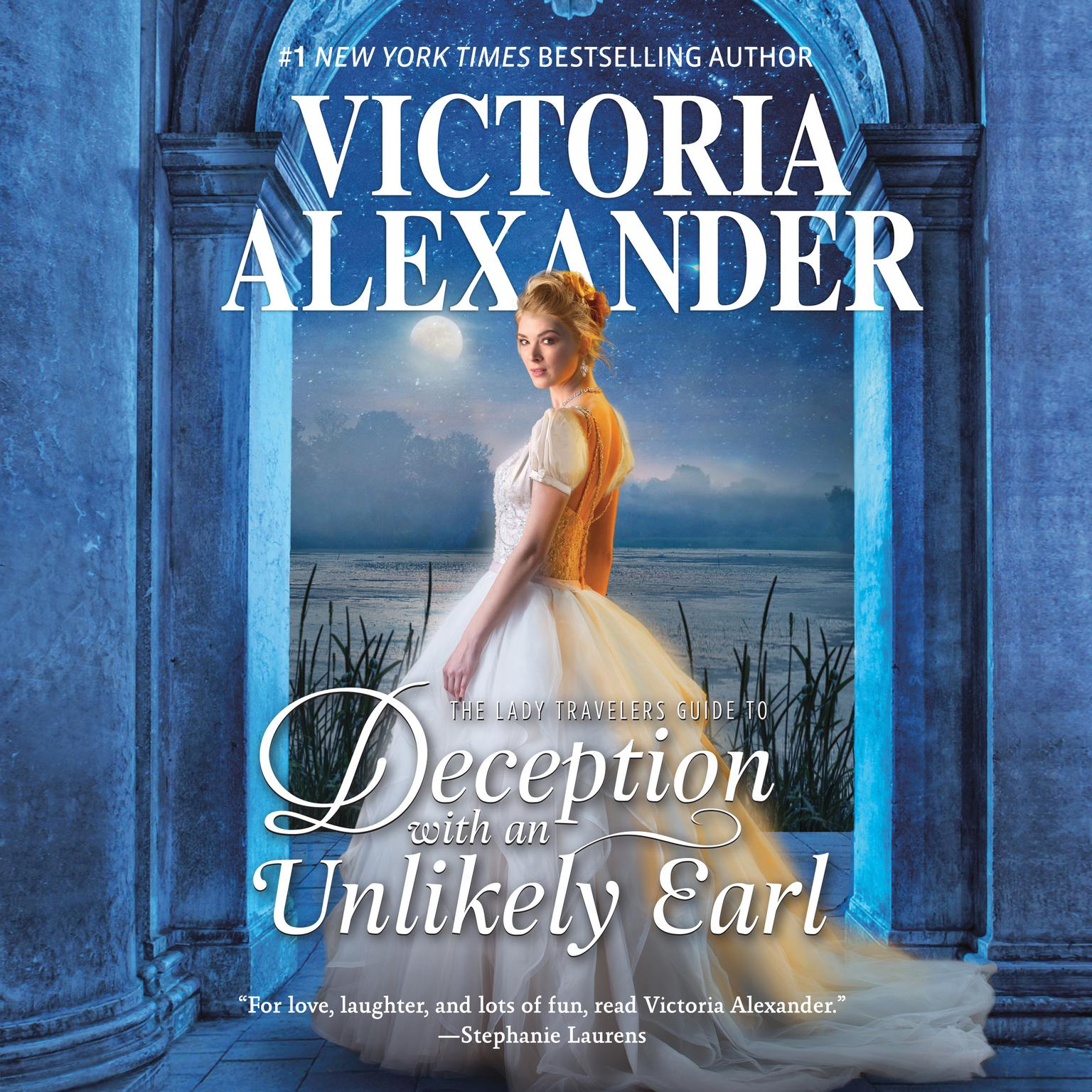 Printable The Lady Travelers Guide to Deception with an Unlikely Earl Audiobook Cover Art
