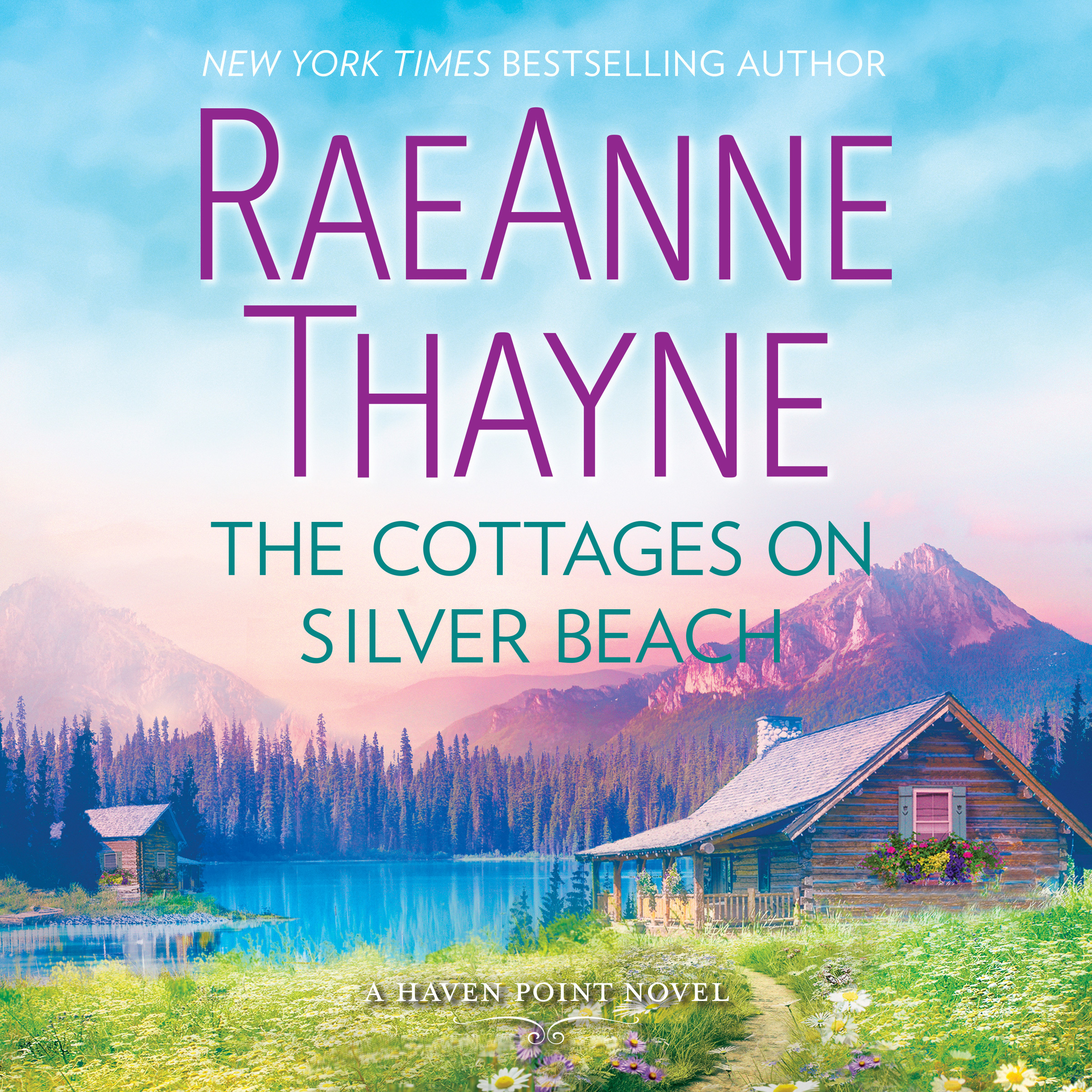 Printable The Cottages on Silver Beach: Haven Point Audiobook Cover Art