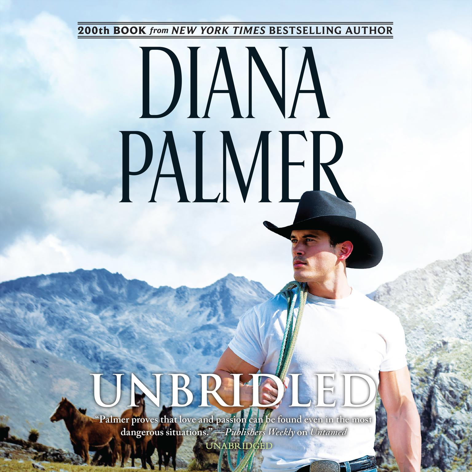 Printable Unbridled Audiobook Cover Art
