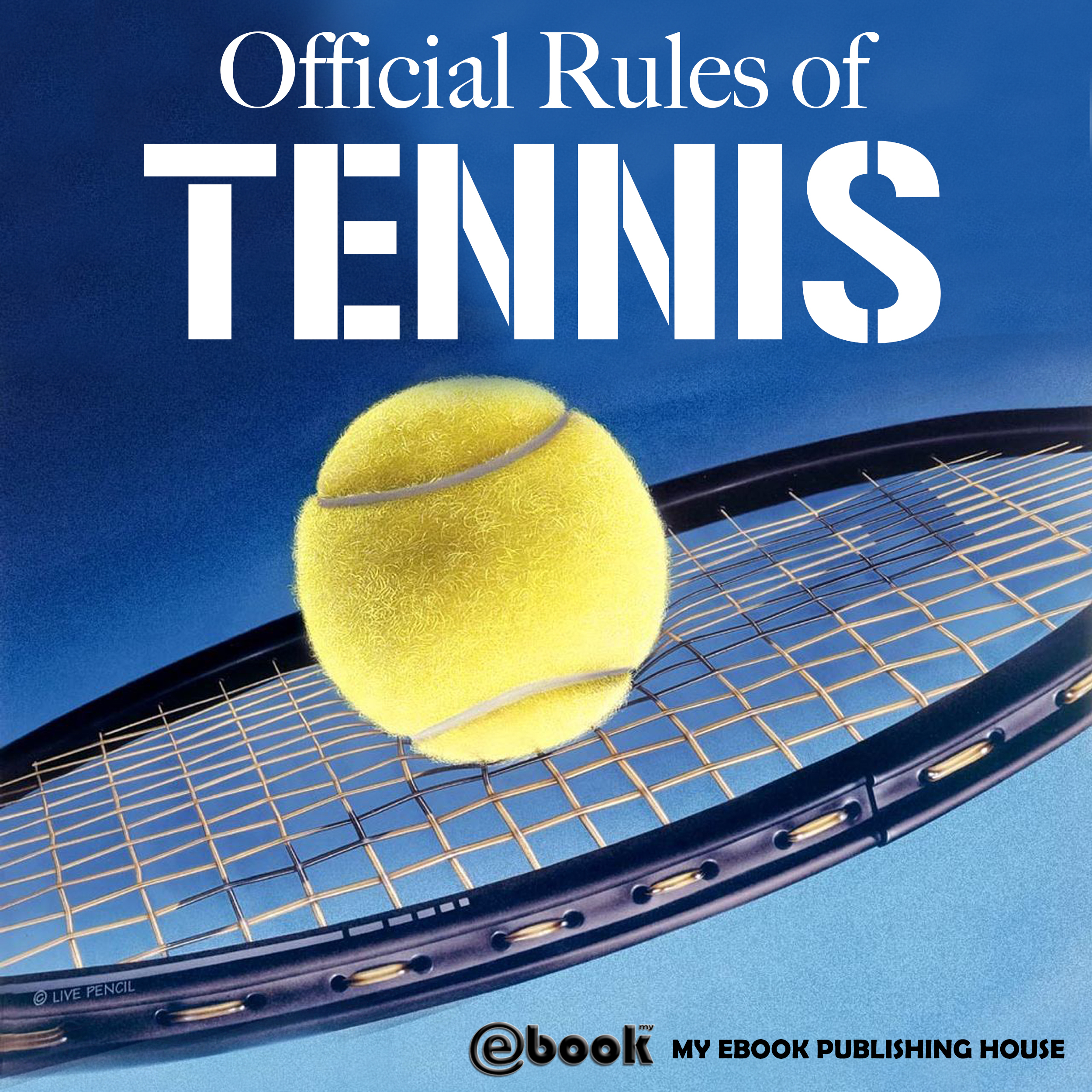 Printable Official Rules of Tennis Audiobook Cover Art