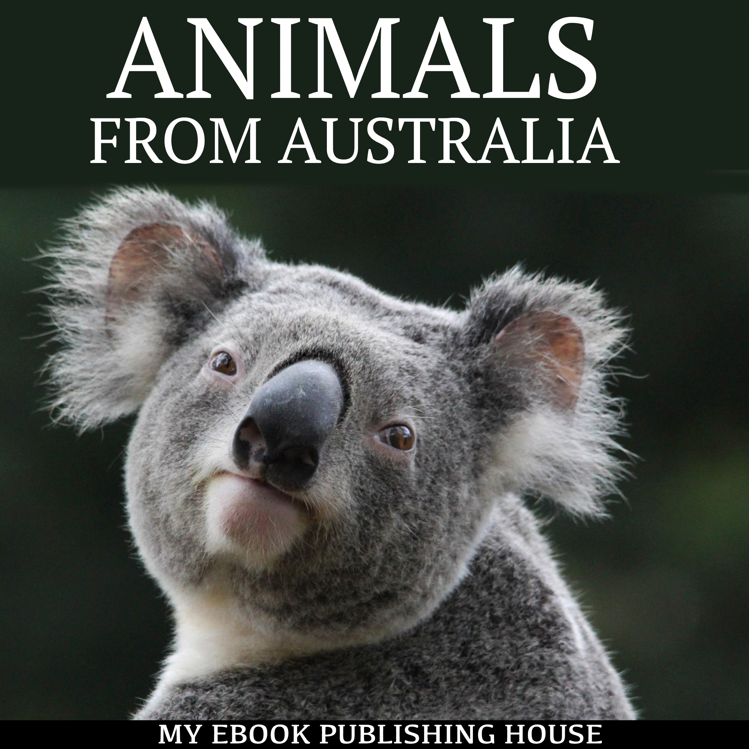 Printable Animals from Australia Audiobook Cover Art
