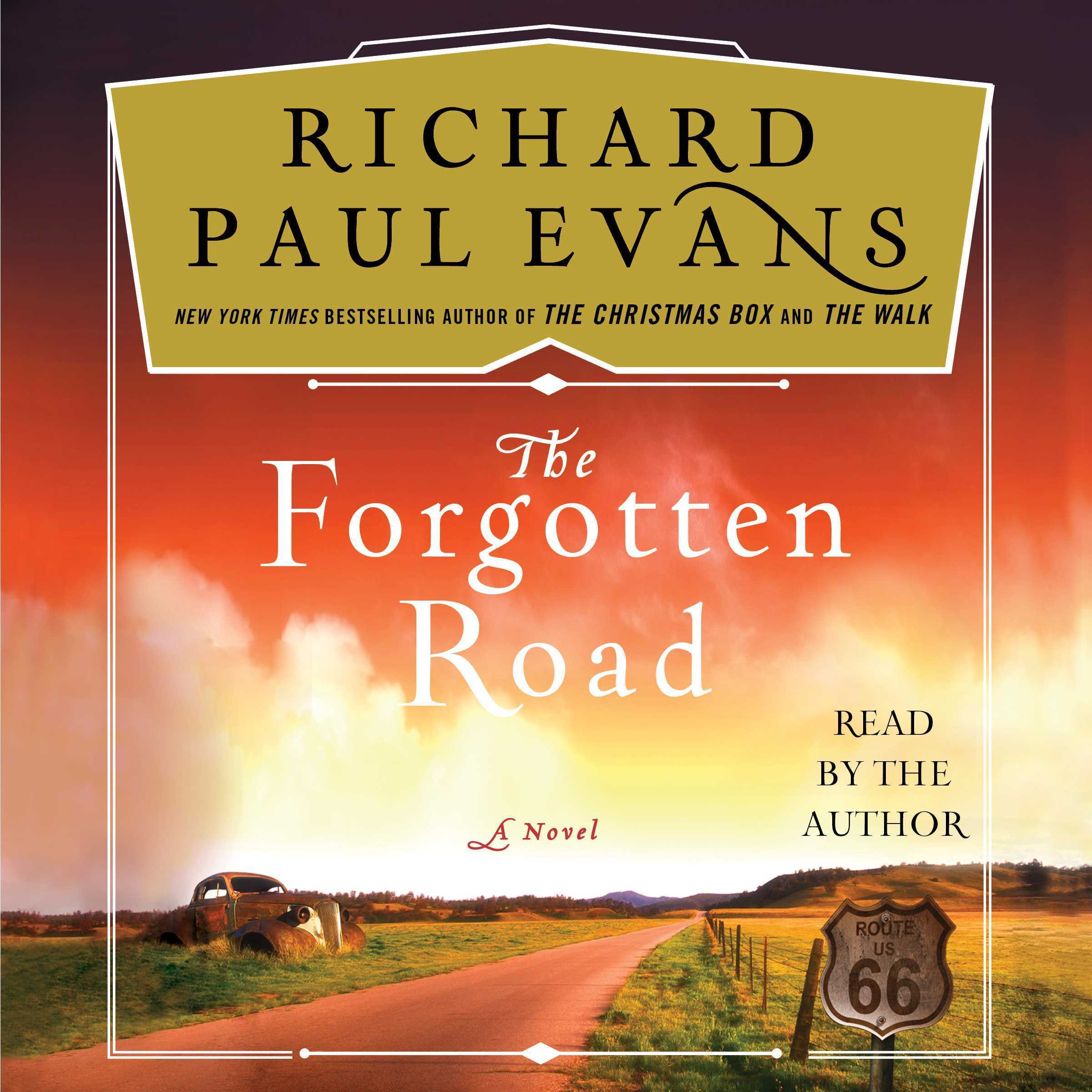 Printable The Forgotten Road Audiobook Cover Art