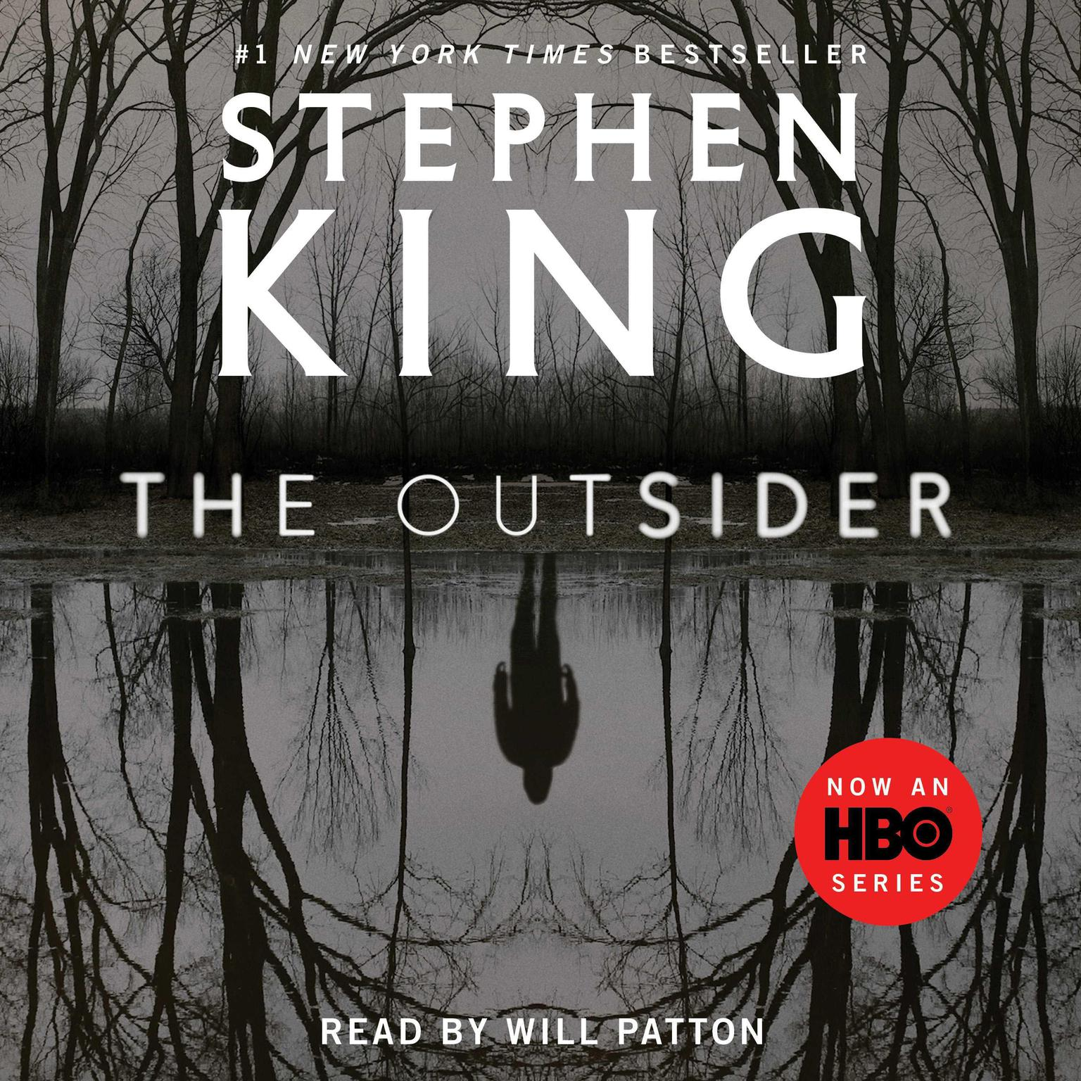 Printable The Outsider: A Novel Audiobook Cover Art