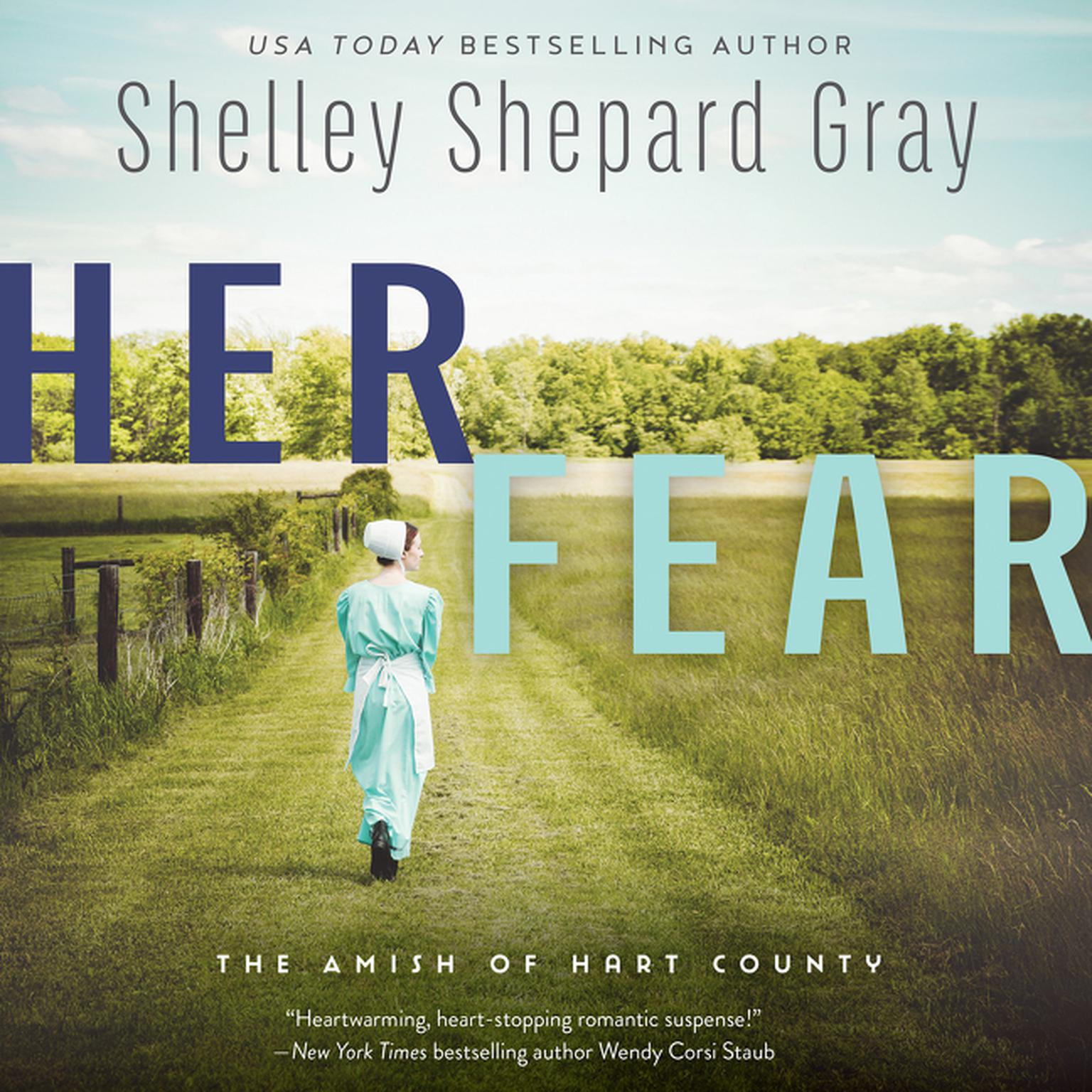 Printable Her Fear: The Amish of Hart County Audiobook Cover Art