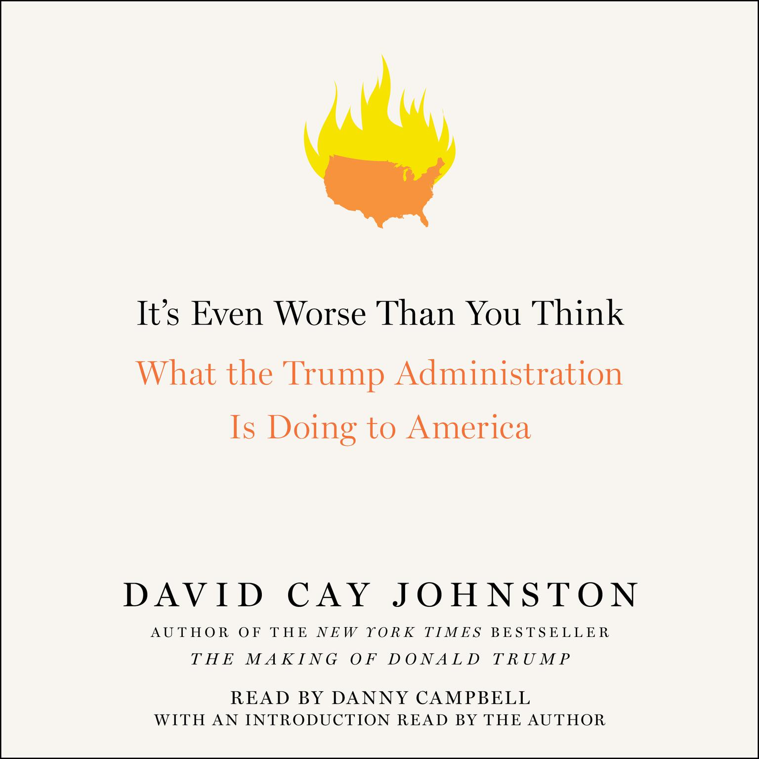Printable It's Even Worse Than You Think: What the Trump Administration Is Doing to America Audiobook Cover Art