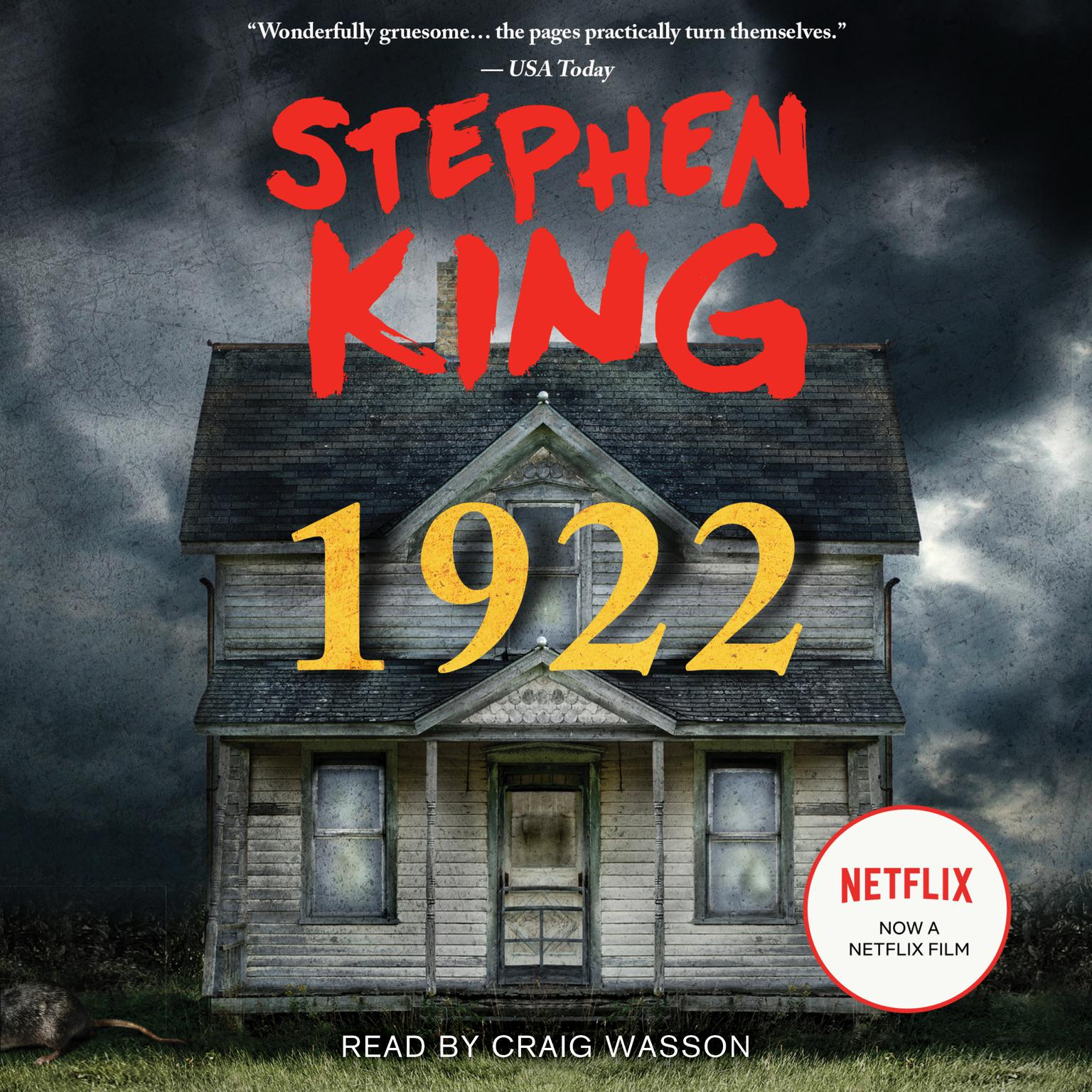 1922: A Novel Audiobook, by Stephen King
