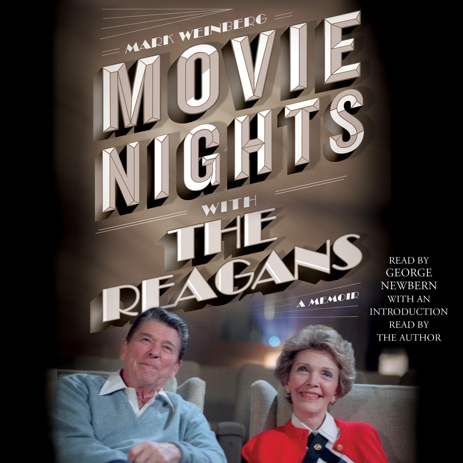 Printable Movie Nights with the Reagans: A Memoir Audiobook Cover Art