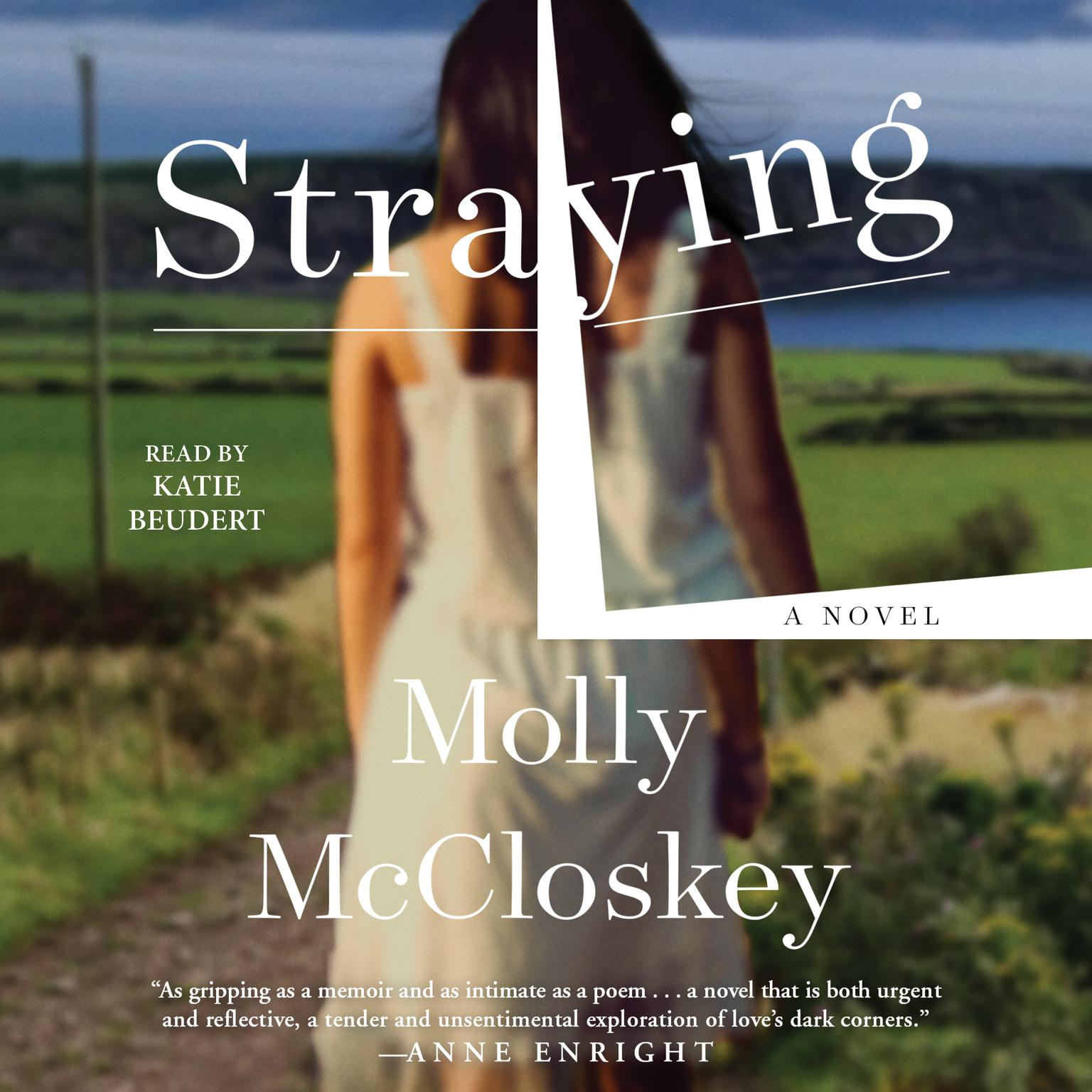 Printable Straying: A Novel Audiobook Cover Art