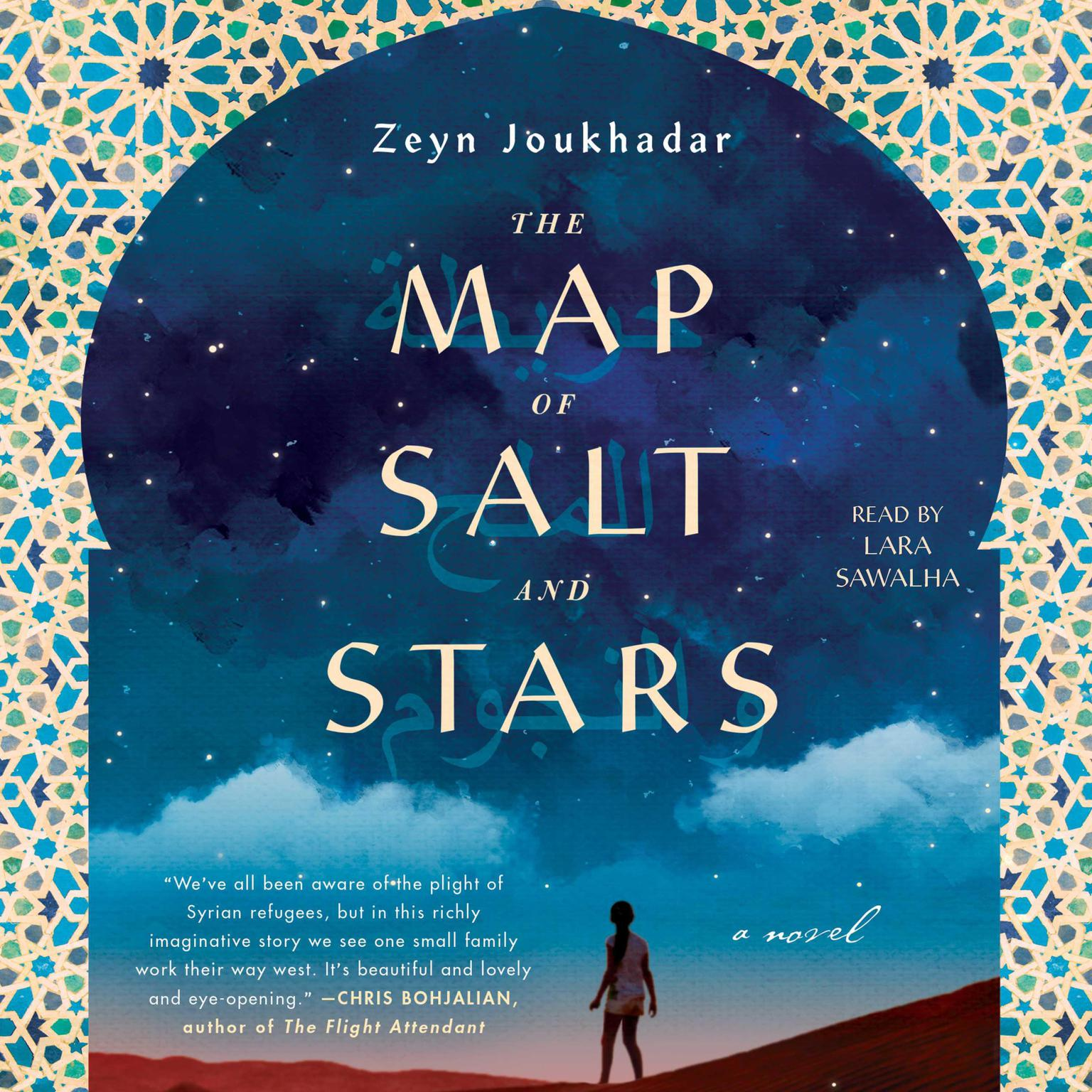 Printable The Map of Salt and Stars: A Novel Audiobook Cover Art