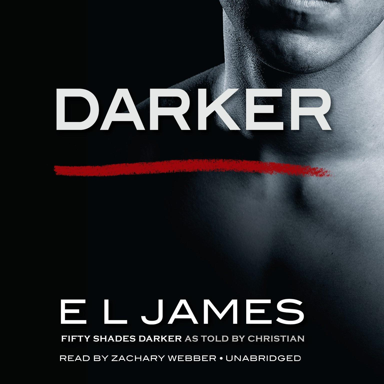 Printable Darker: Fifty Shades Darker as Told by Christian Audiobook Cover Art