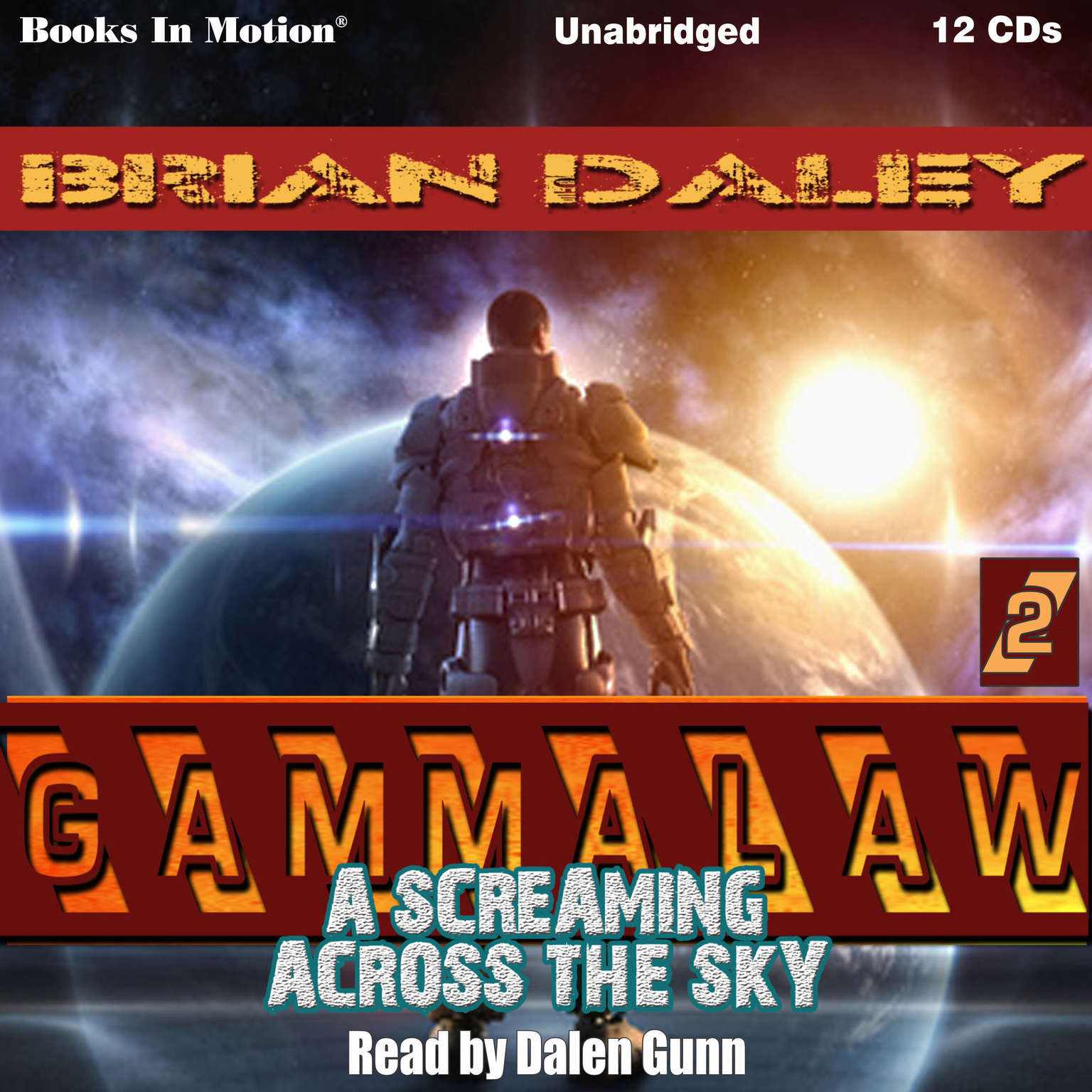 A Screaming Across The Sky Audiobook, by Brian Daley