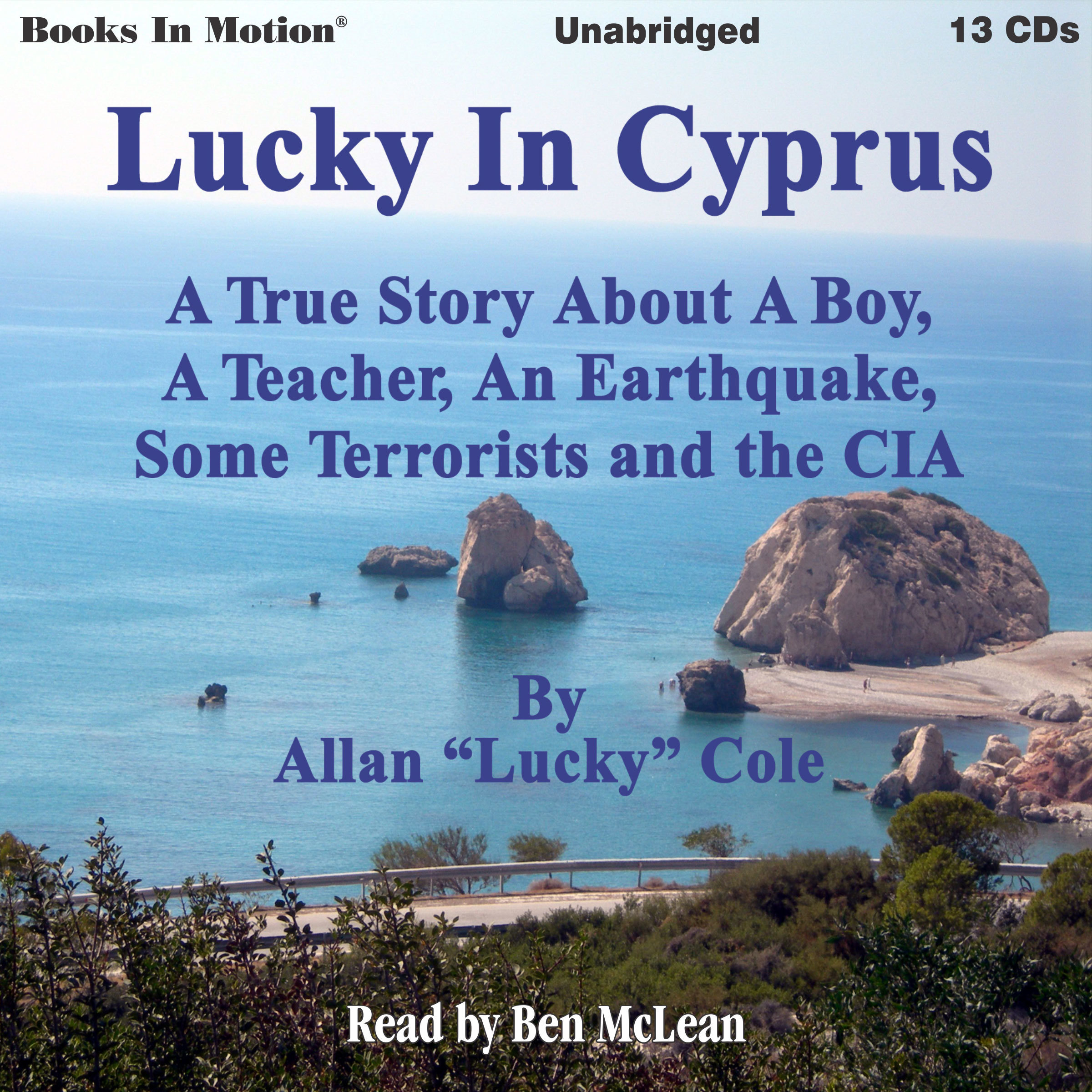 Printable Lucky In Cyprus Audiobook Cover Art