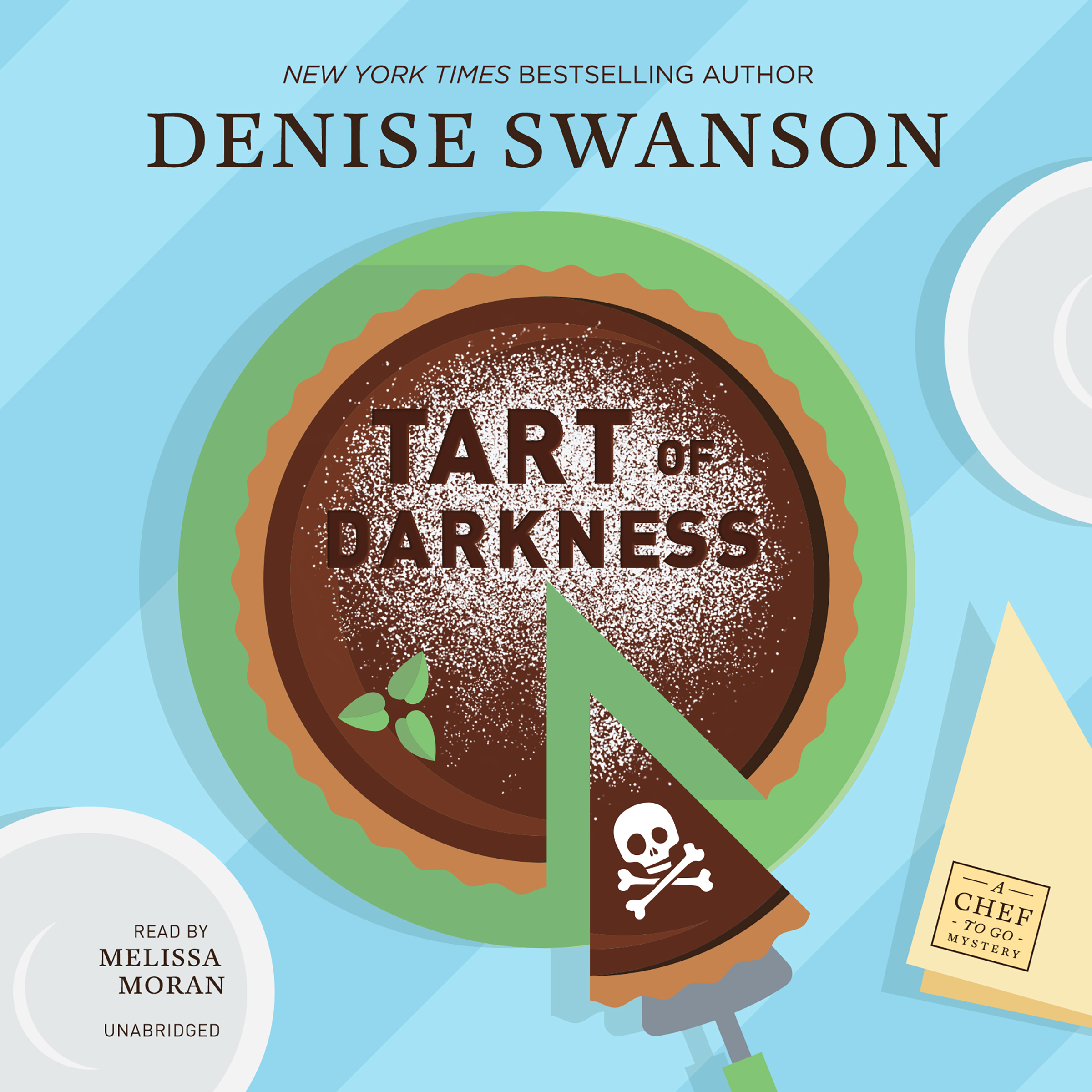 Printable Tart of Darkness: A Chef-to-Go Mystery Audiobook Cover Art