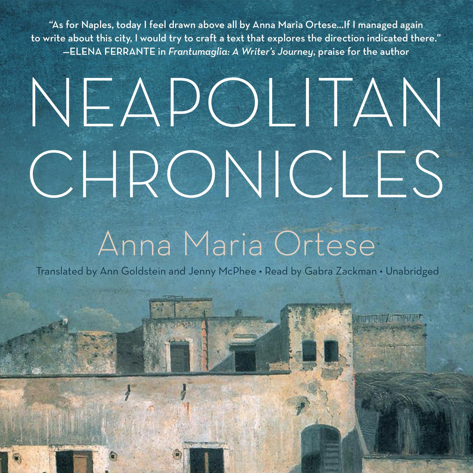 Printable Neapolitan Chronicles Audiobook Cover Art